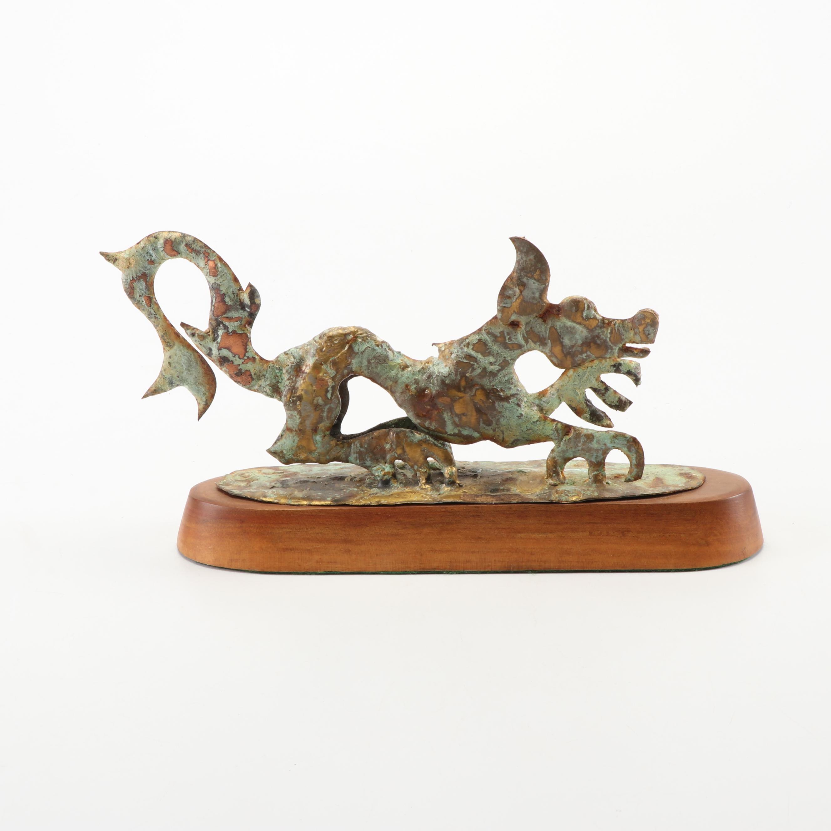 Bill Lett Dragon Sculpture