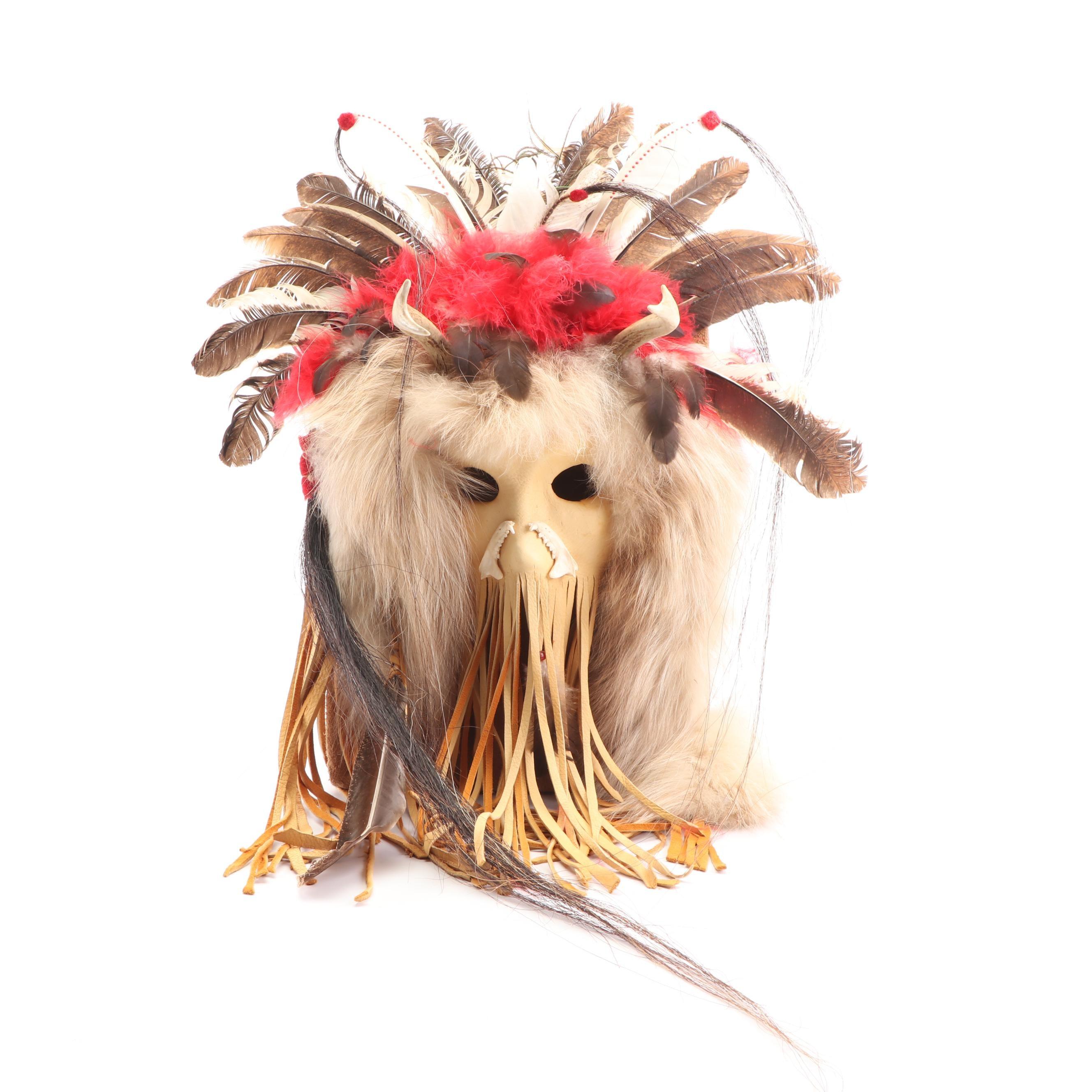 Plains Style Ceremonial Mask