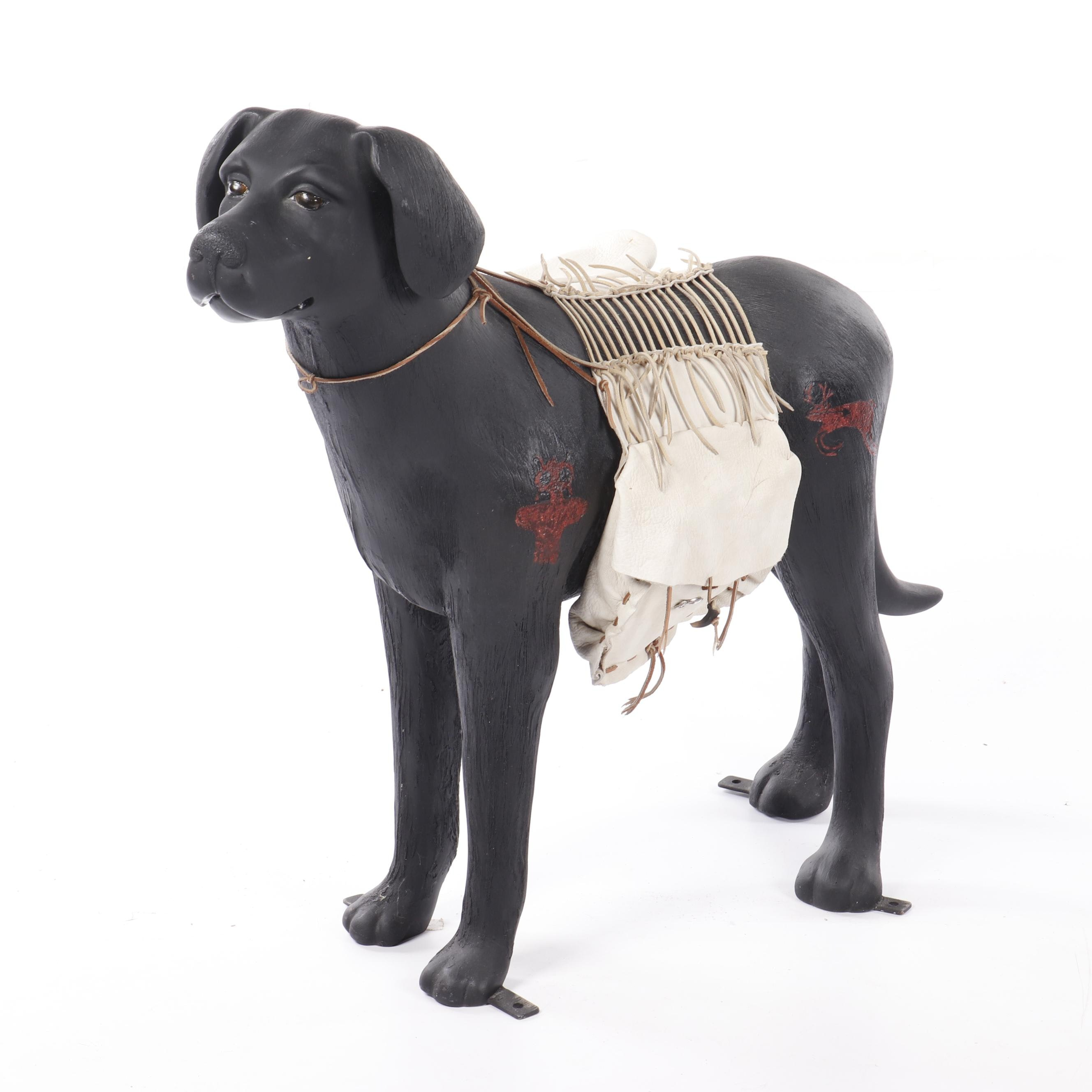 """Dennis Downes and John White Sculpture """"Eco-Dog"""""""
