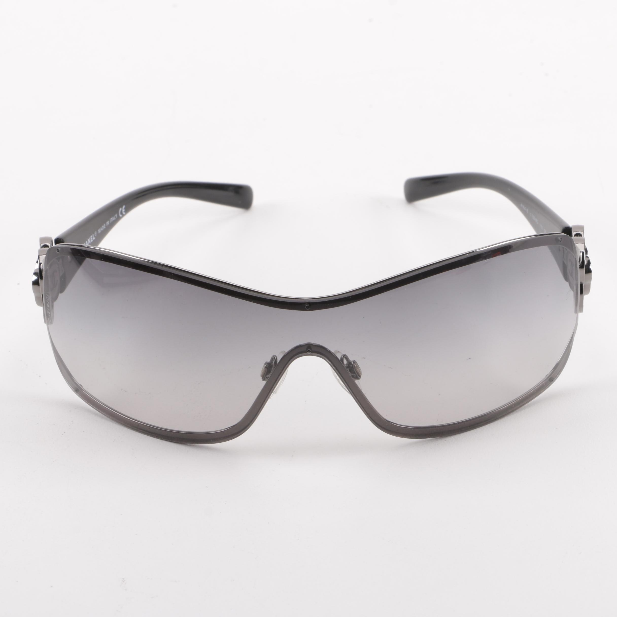 Chanel 4164-B Shield Sunglasses with Case