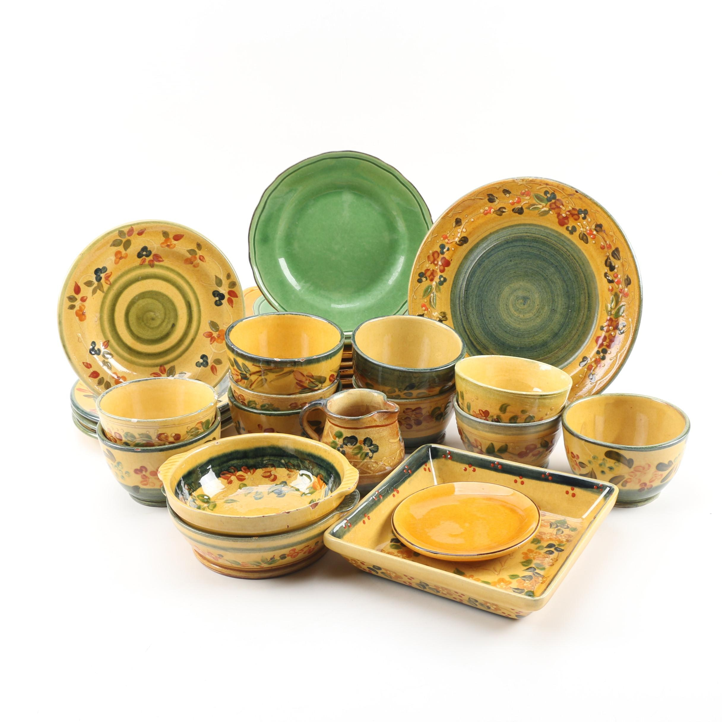 Terre é Provence Earthenware Tableware