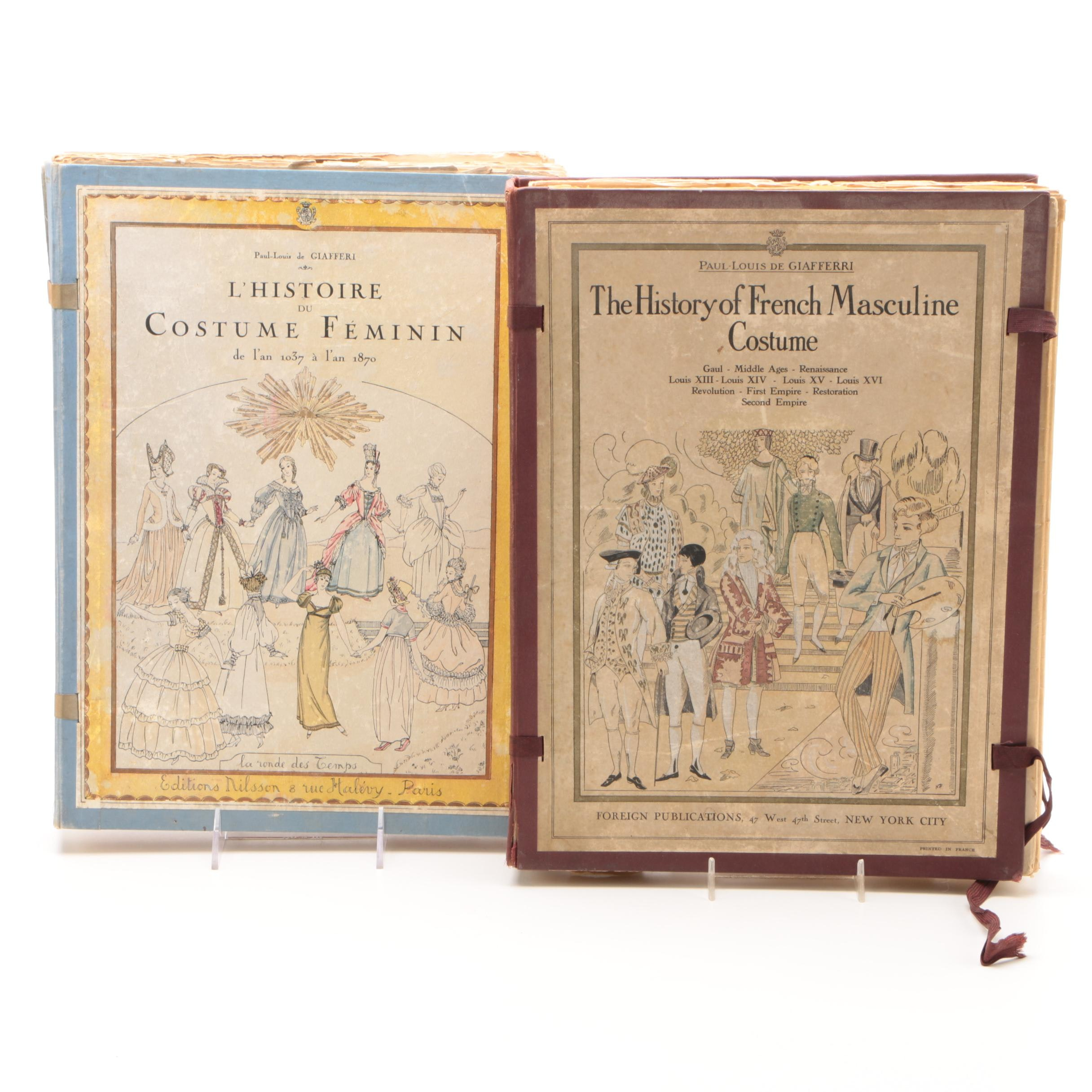 History of French Costumes Books