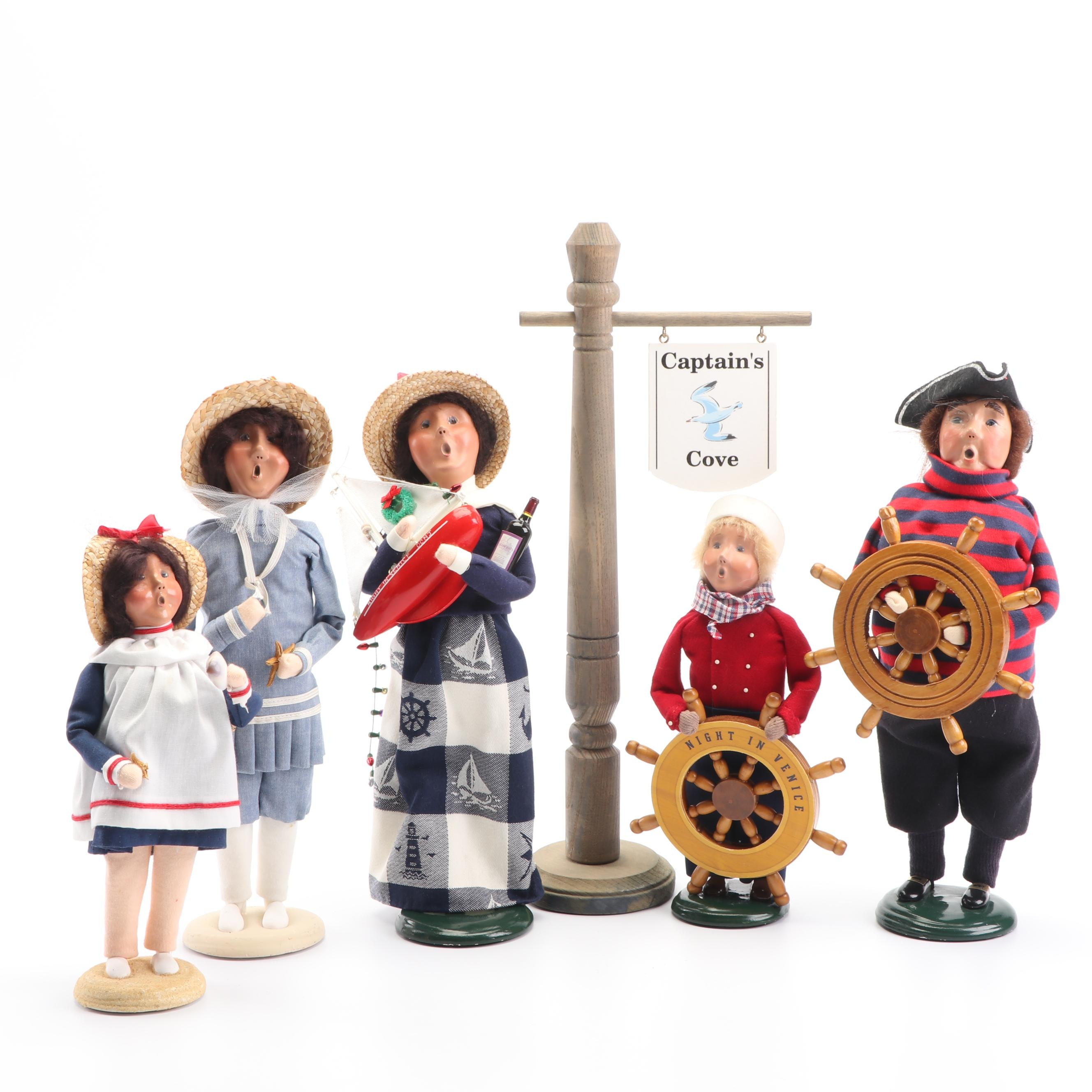 Byer's Choice Nautical Themed Carolers