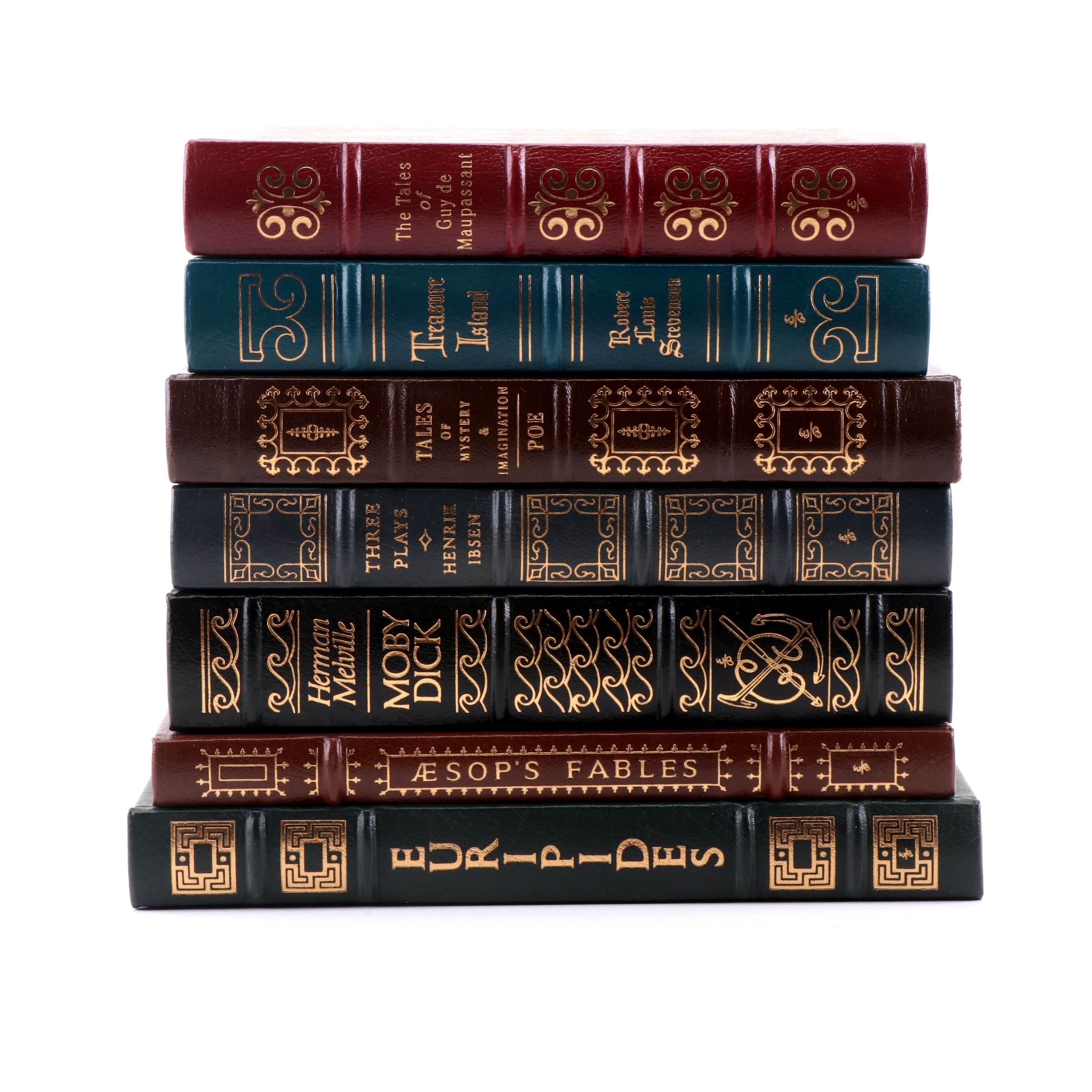 "Easton Press ""Moby Dick"", ""Treasure Island"" and More"