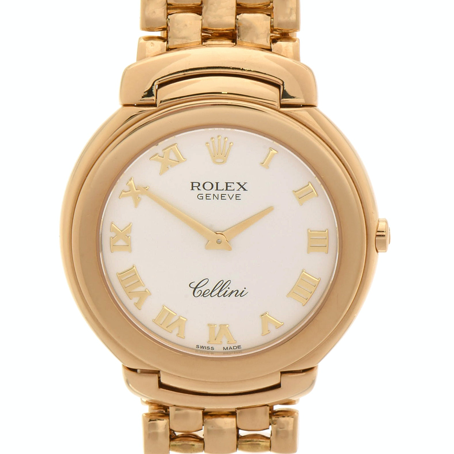 Rolex Cellini 18K Yellow Gold Quartz Wristwatch, Circa 1990s