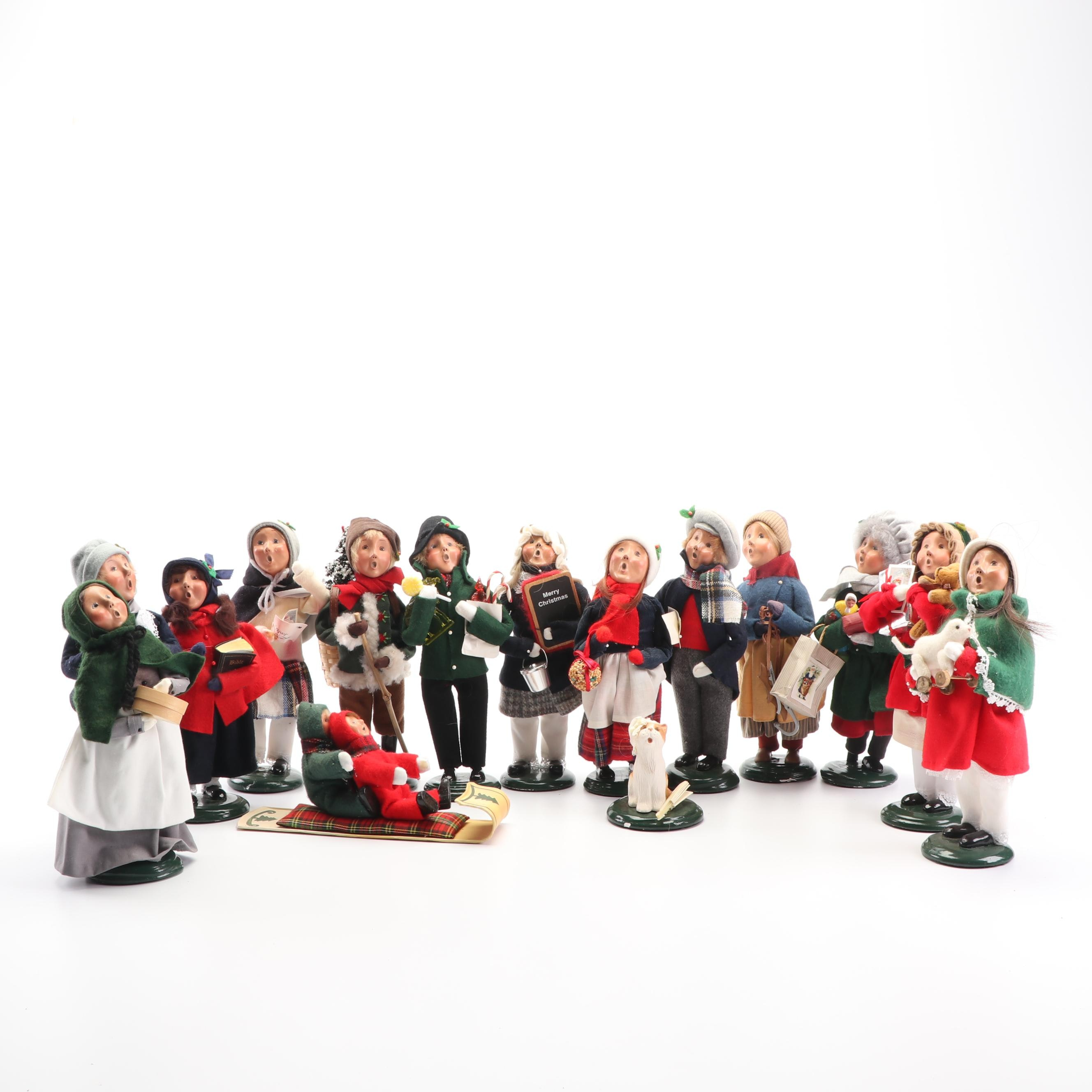 Byers' Choice Carolers Including Christmas Cat