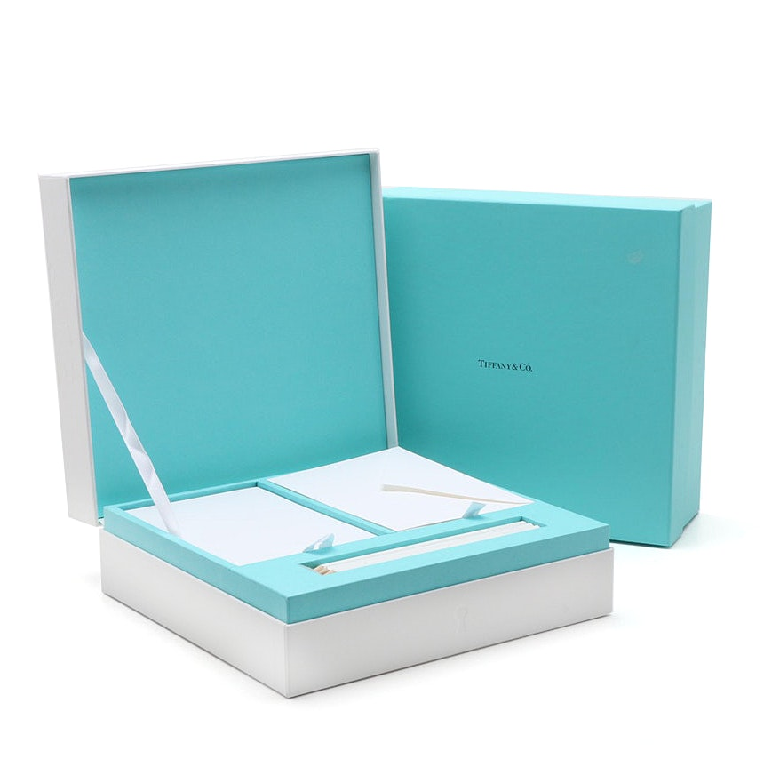 Tiffany & Co. Boxed Stationery