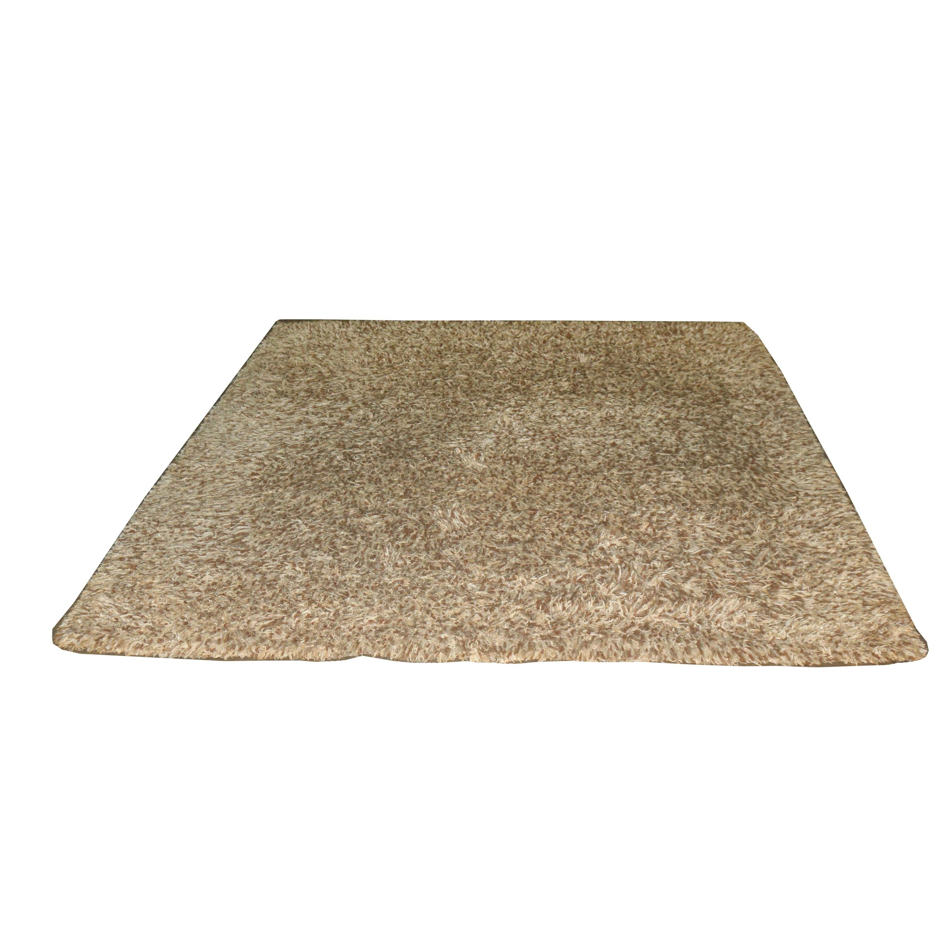 Hand Knotted Wool Shag Rug