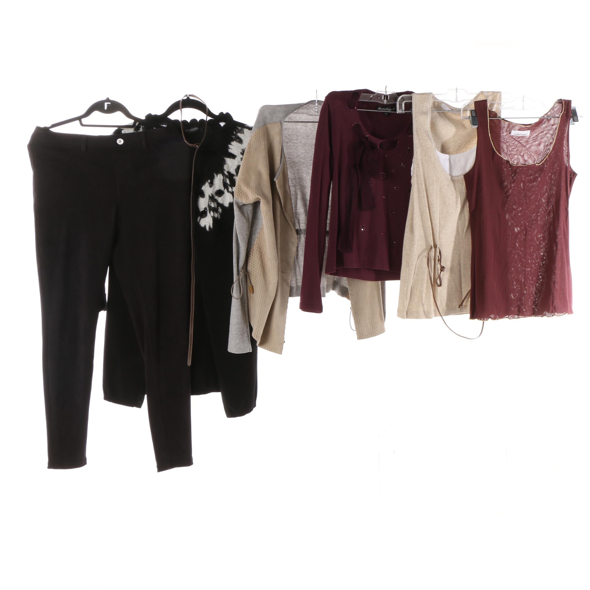 Women's Sweaters, Tops and Pant Including Fabiana Philippi and Lorella Braglia