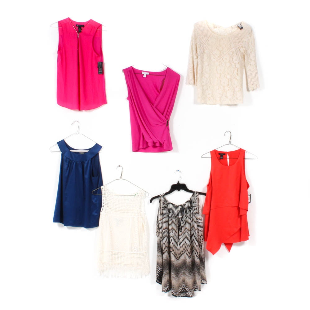 Women's Tops Including LAUREN Ralph Lauren, Alfani, and Ann Taylor