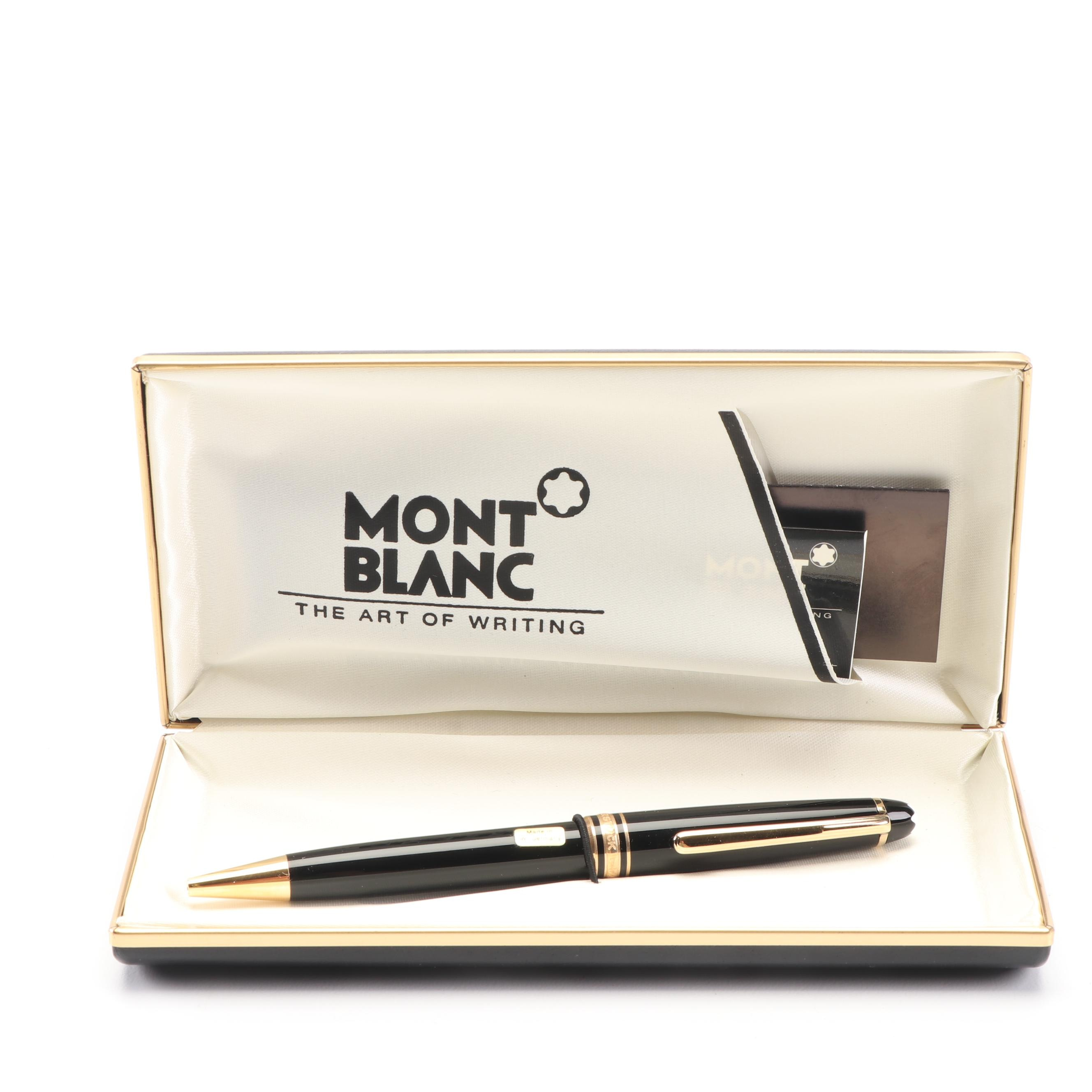 Montblanc Meisterstuck Ballpoint Pen with Case