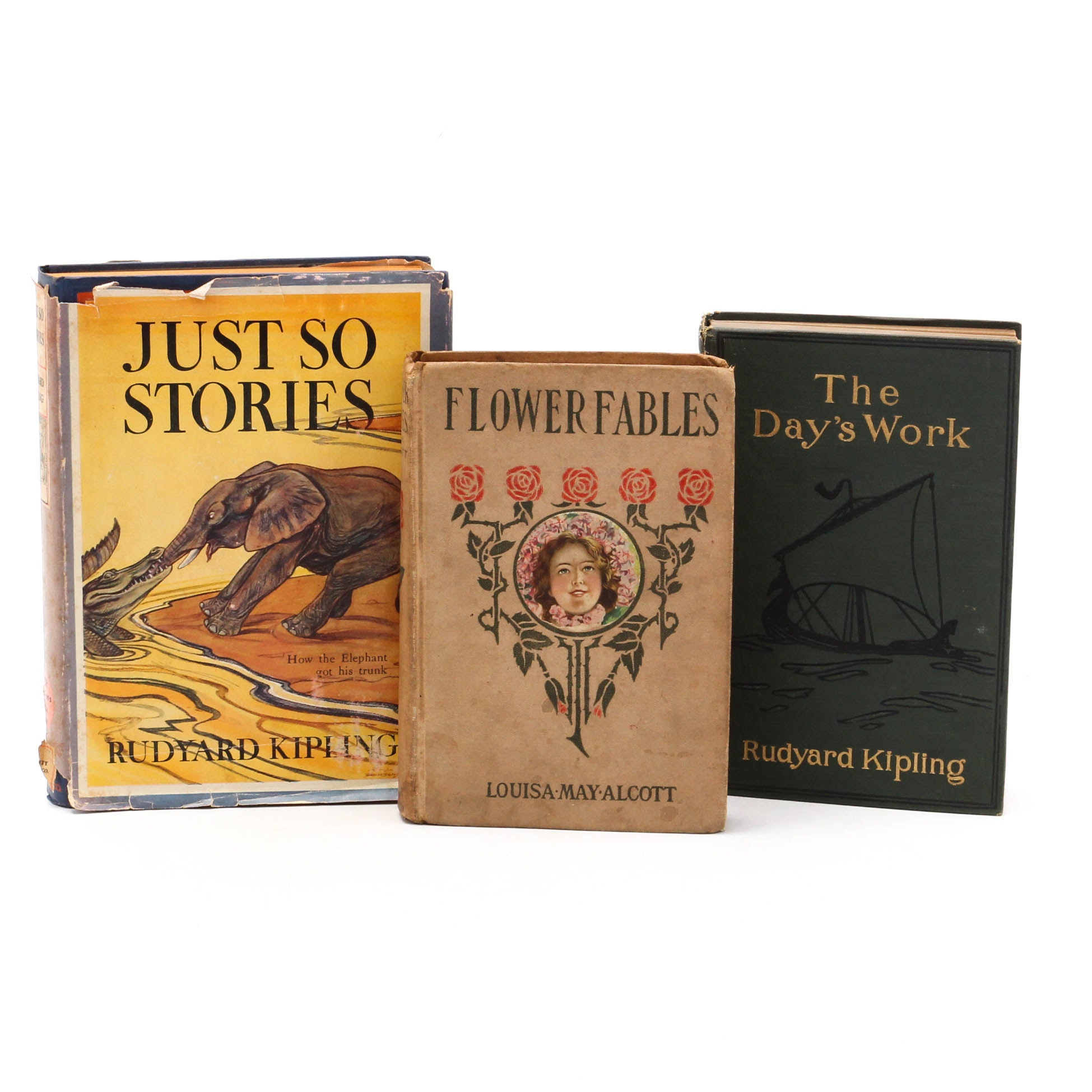 """Just So Stories"" by Rudyard Kipling and Other Vintage Books"