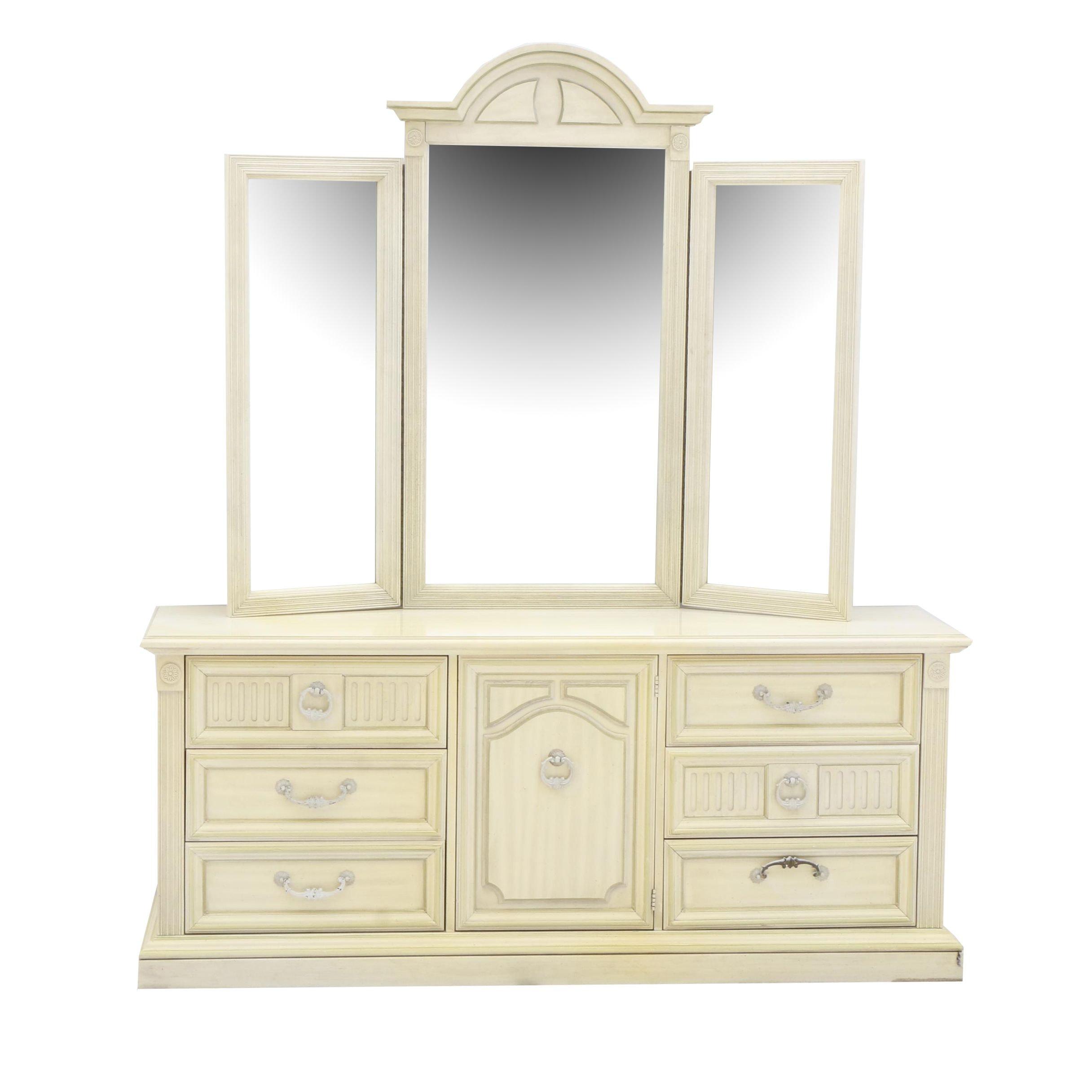 Vintage Stanley Dresser with Mirror