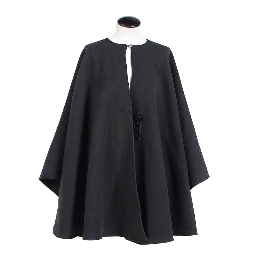 Hermès Brown Cashmere Cape