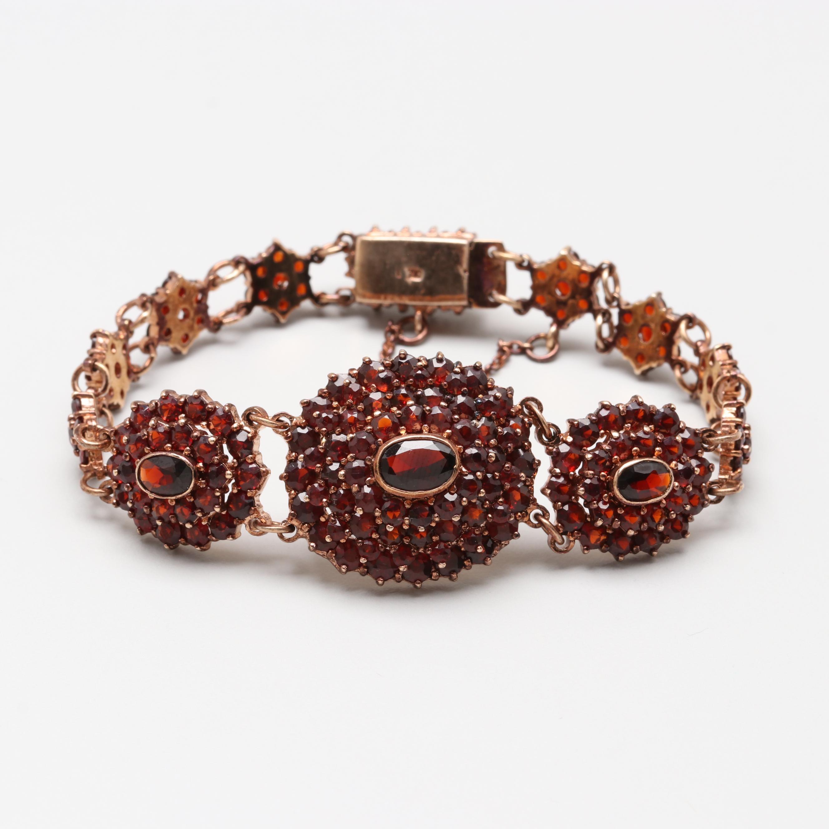 Vintage Garnet Bracelet