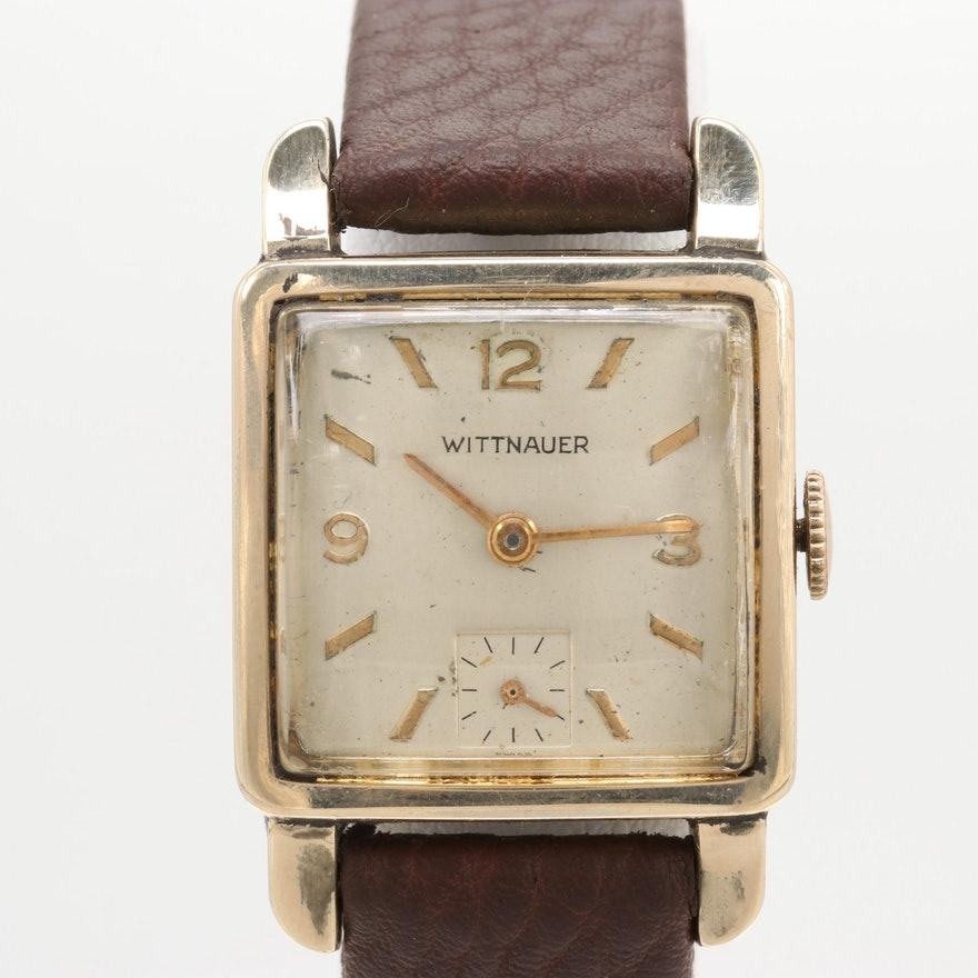 aba13e64292 Vintage Wittnauer Stem Wind Wristwatch