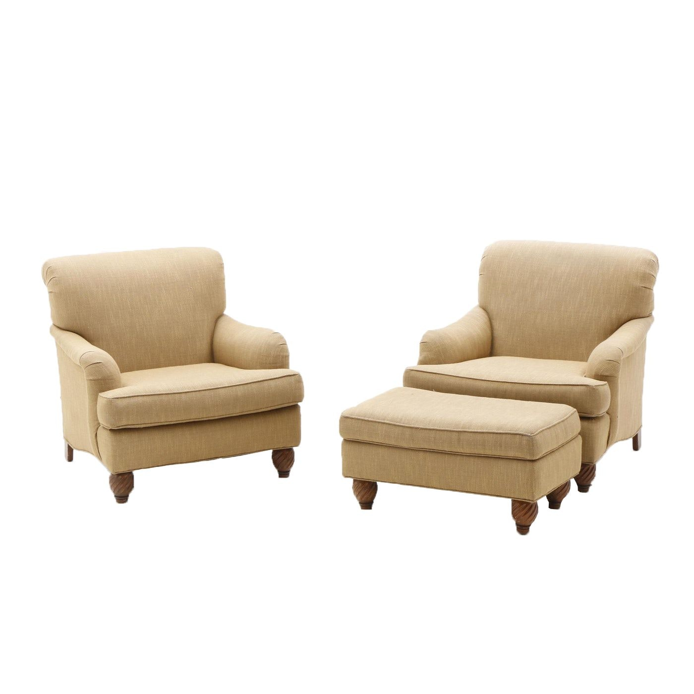 Tommy Bahama Chairs and Ottoman by Lexington