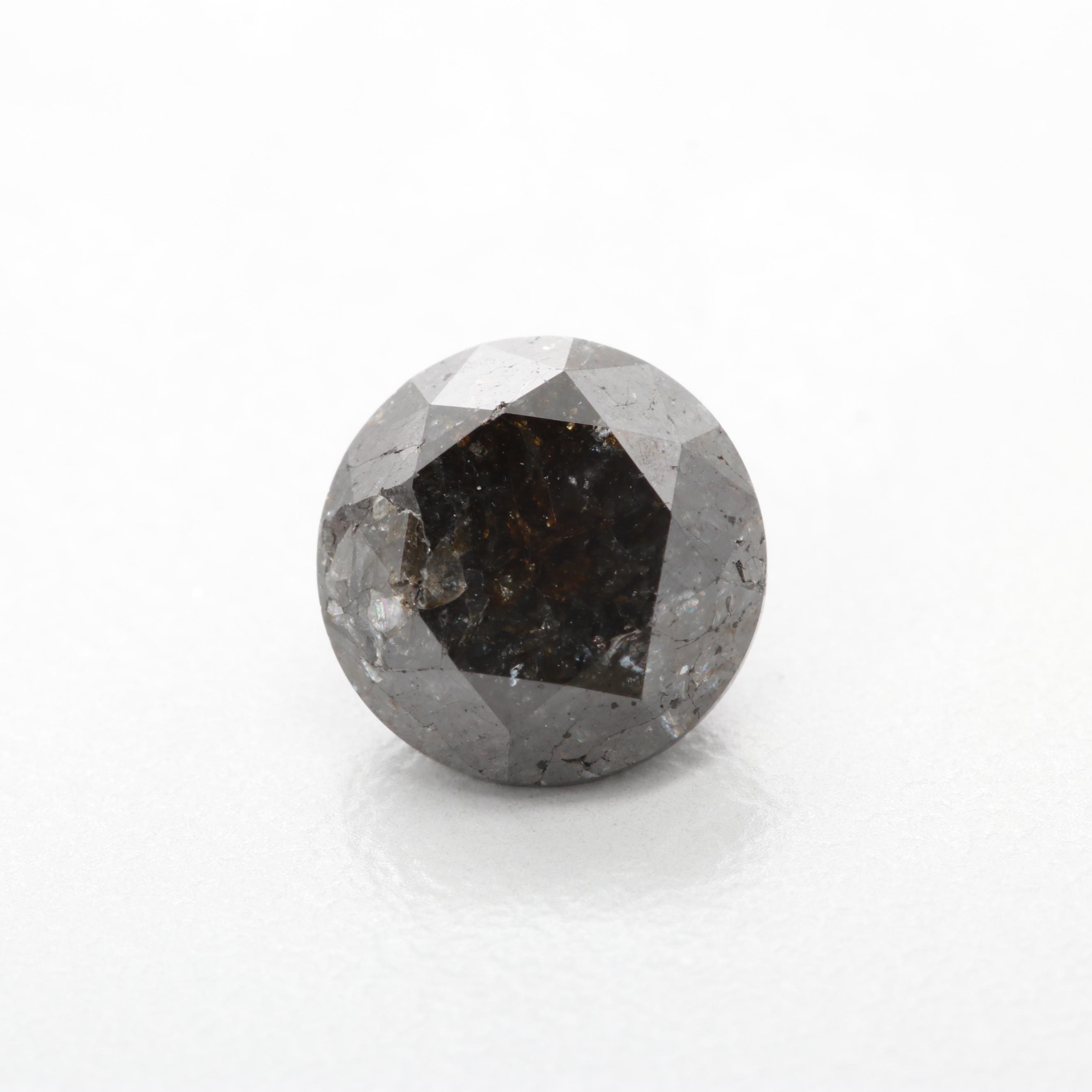 Loose 2.52 CT Black Diamond