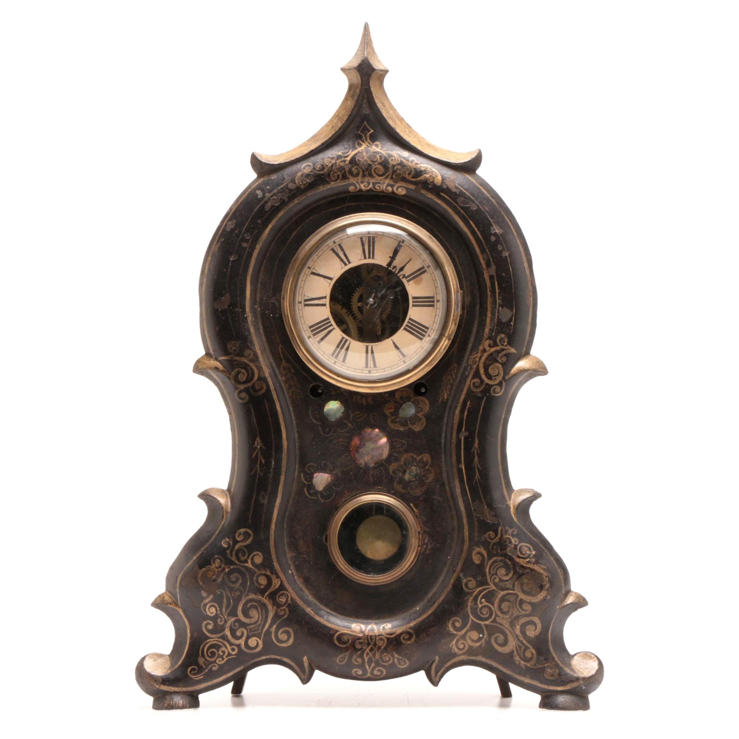 Antique Terhune & Botsford Iron Face Clock