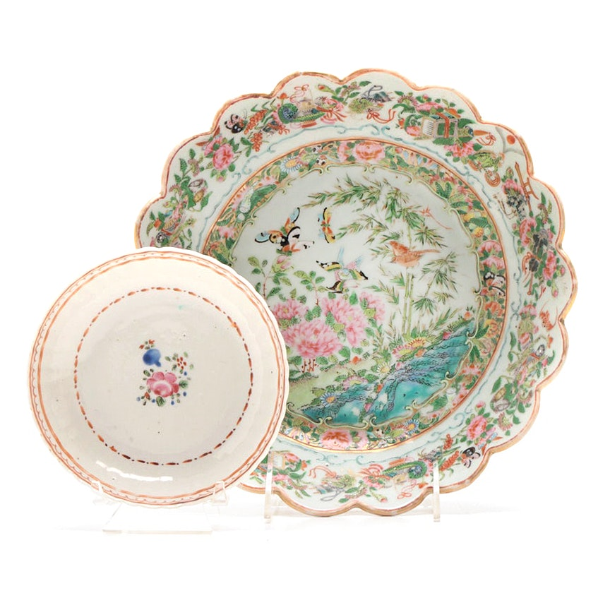 Early 19th Century Chinese Export Porcelain Bowls