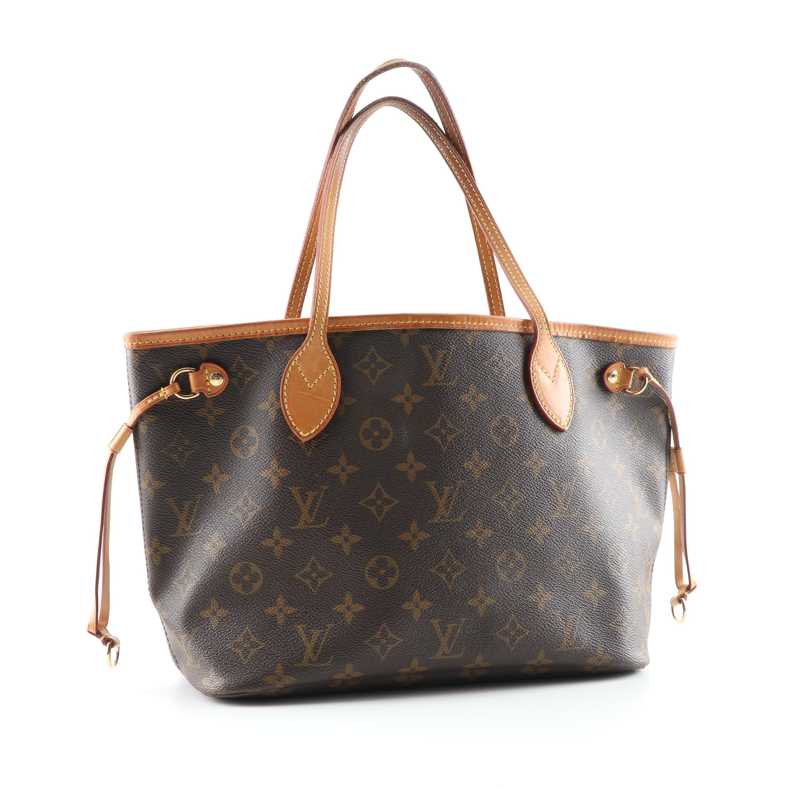 2010 Louis Vuitton Paris Monogram Canvas Neverfull NM PM Tote