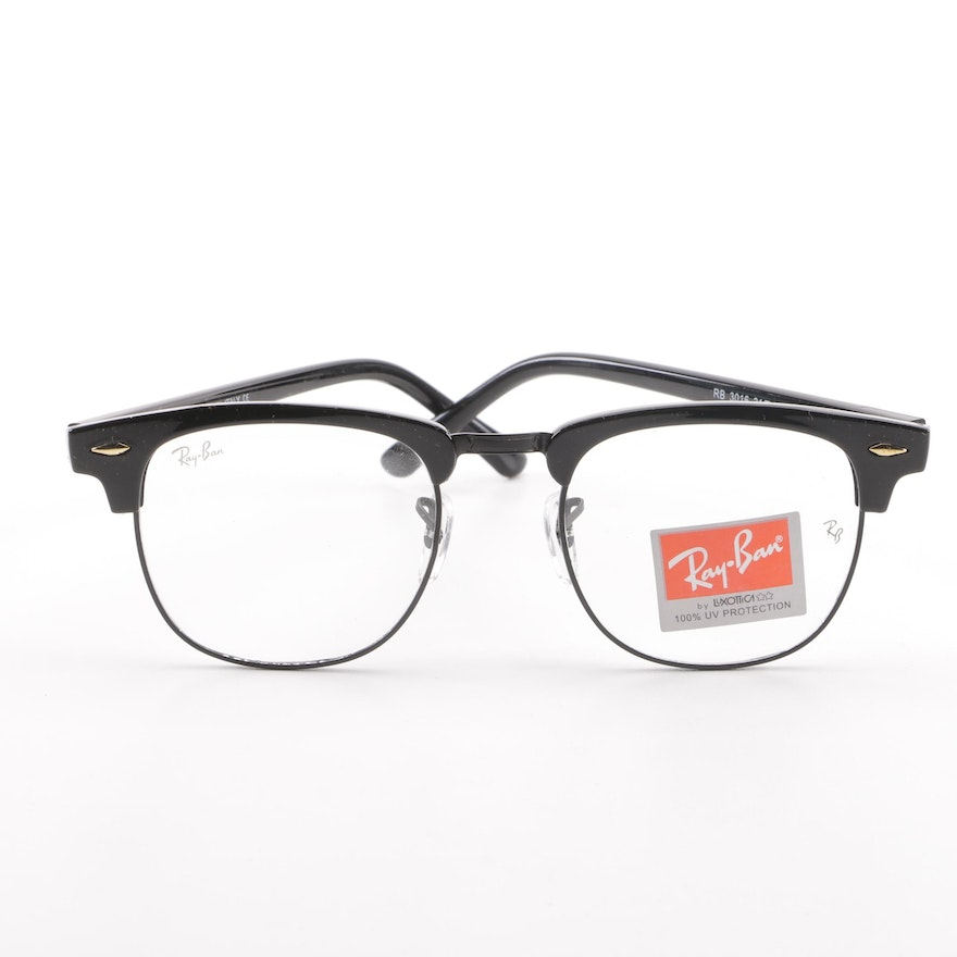 6321896705 Ray-Ban RB 3016 Clubmaster Eyeglasses with Case