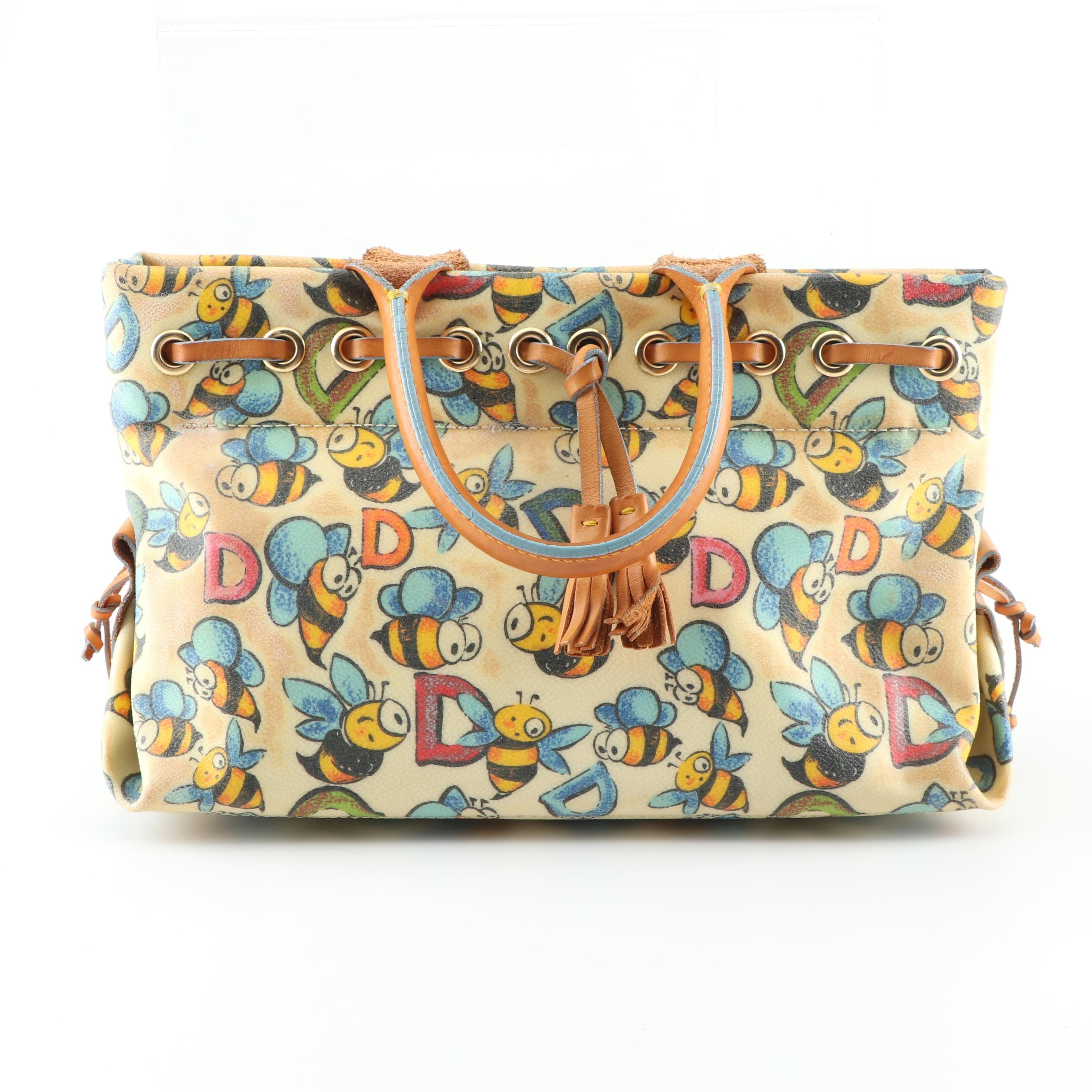 Dooney & Bourke Bumble Bee Tassel Handbag