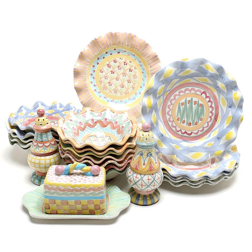 Mackenzie-Childs Assorted Dinnerware