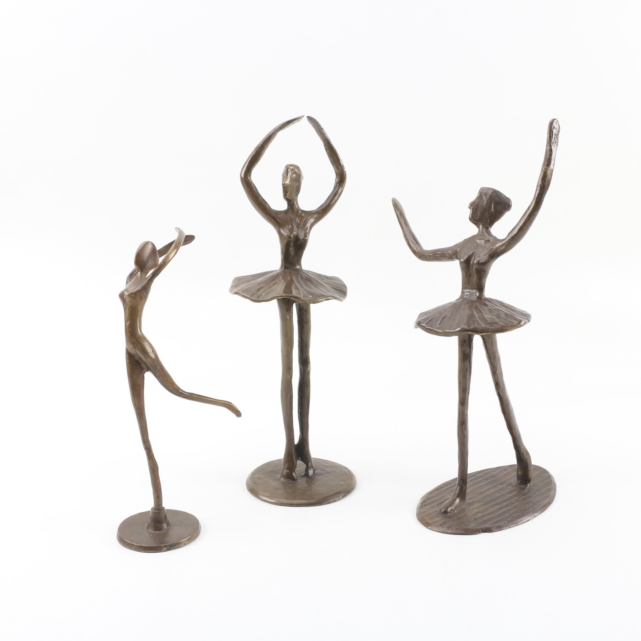 Bronze Ballerina Sculptures