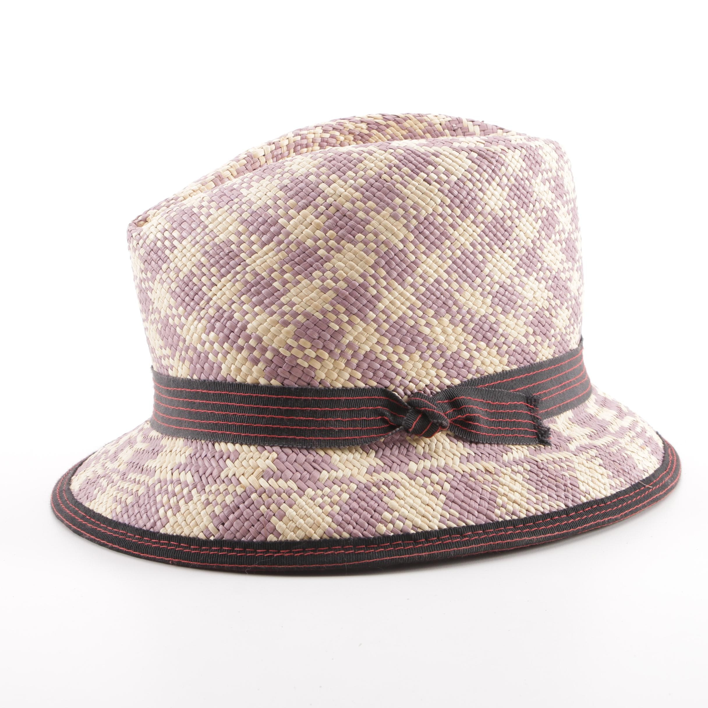 Rod NYC Woven Trilby