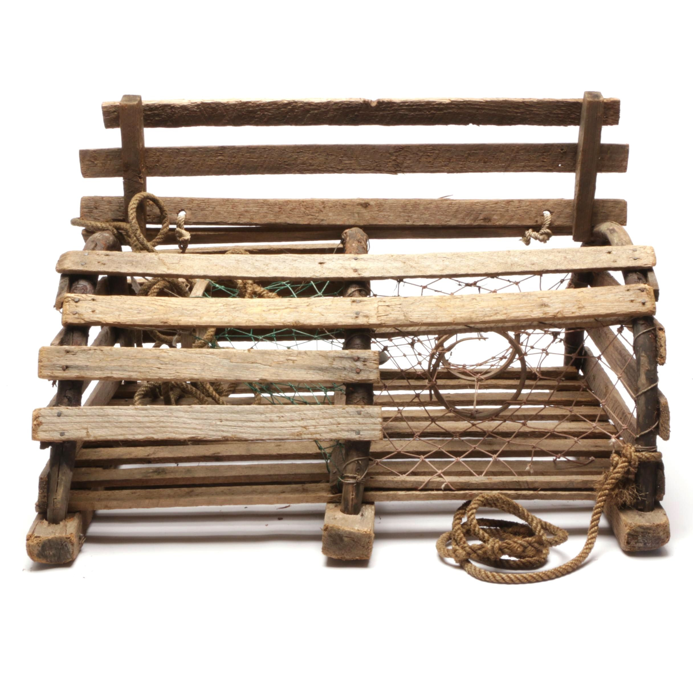 Wooden Lobster Trap