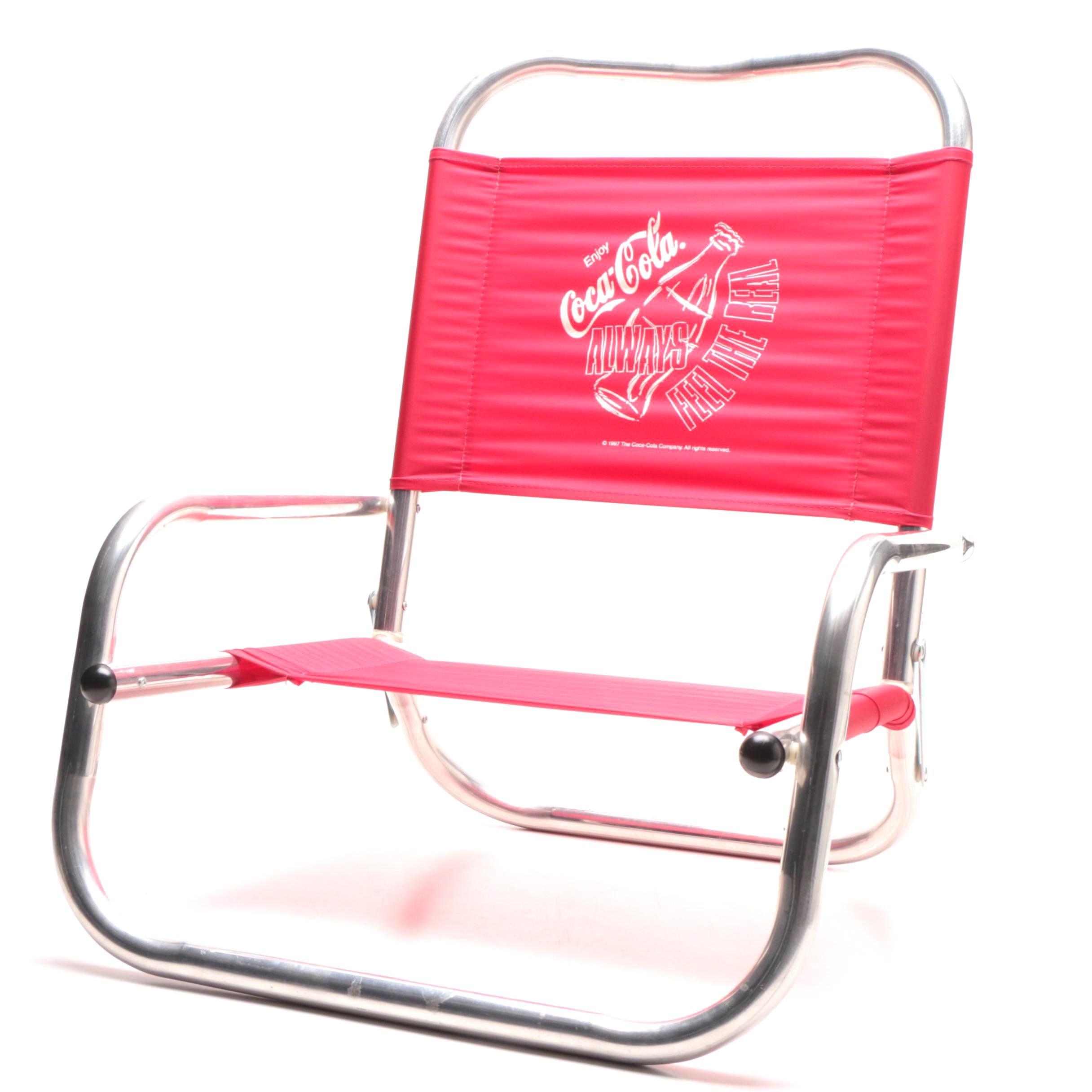 Coca-Cola Folding Beach Chair