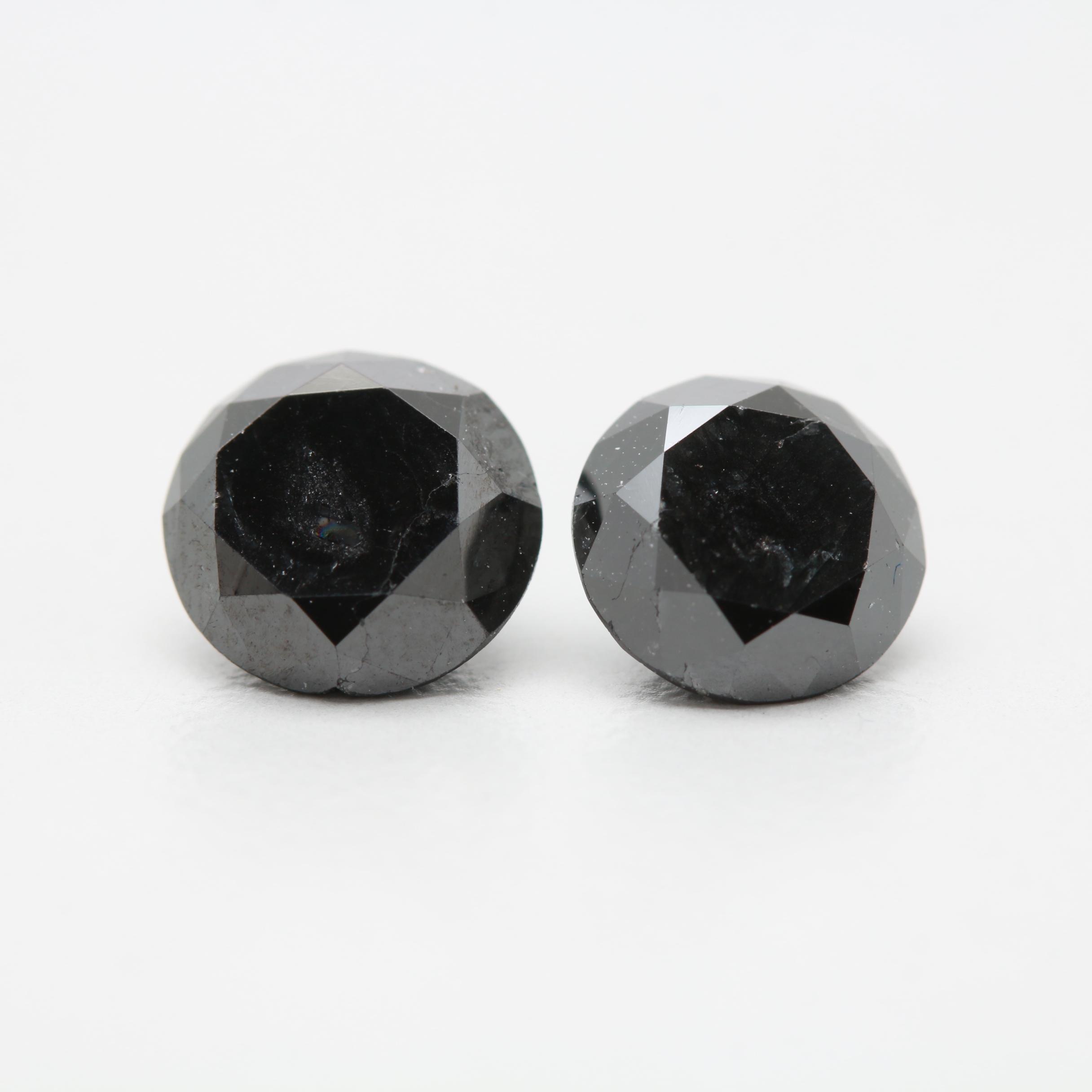 Loose 3.06 CTW Black Diamond