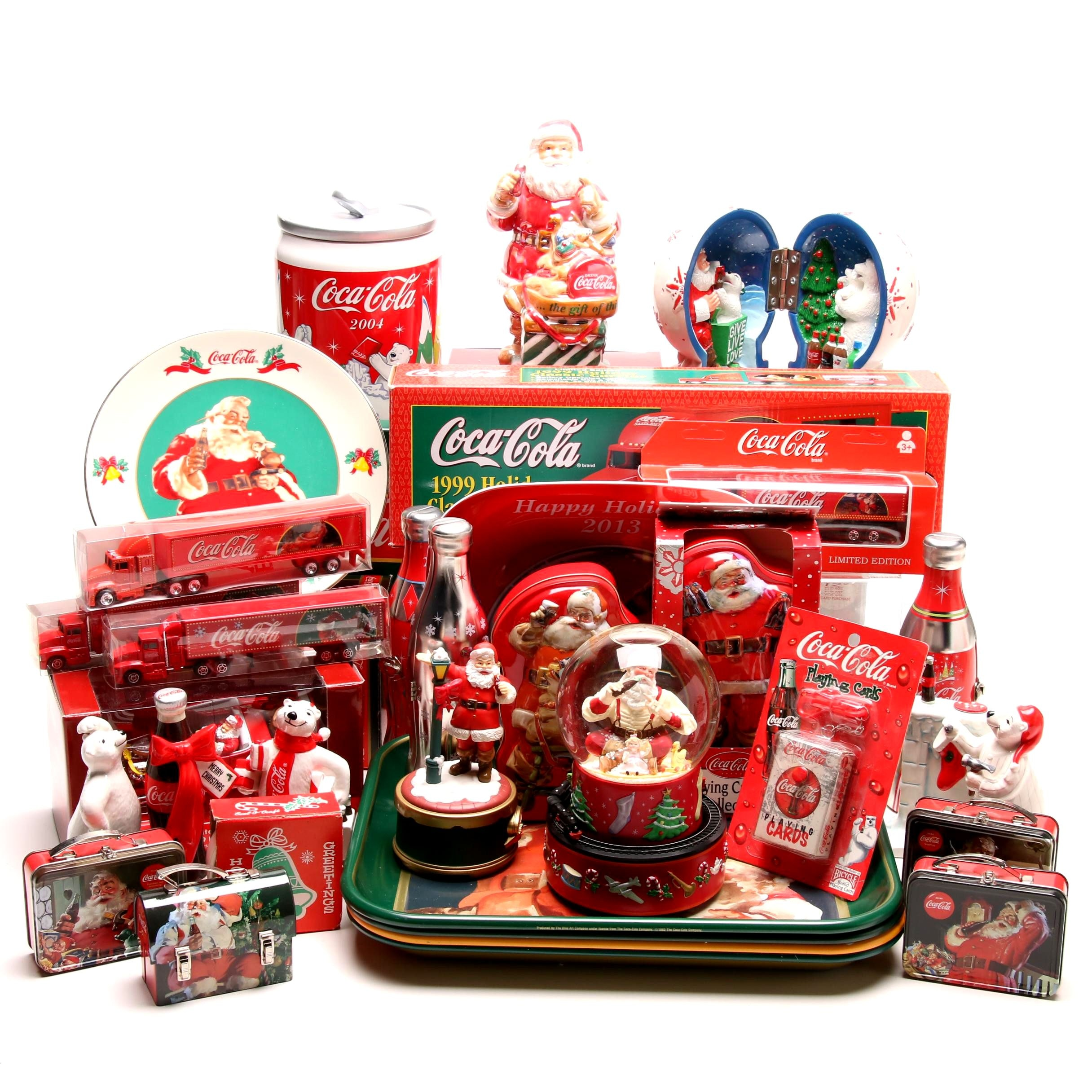 Coca-Cola Winter and Christmas Themed Collectibles