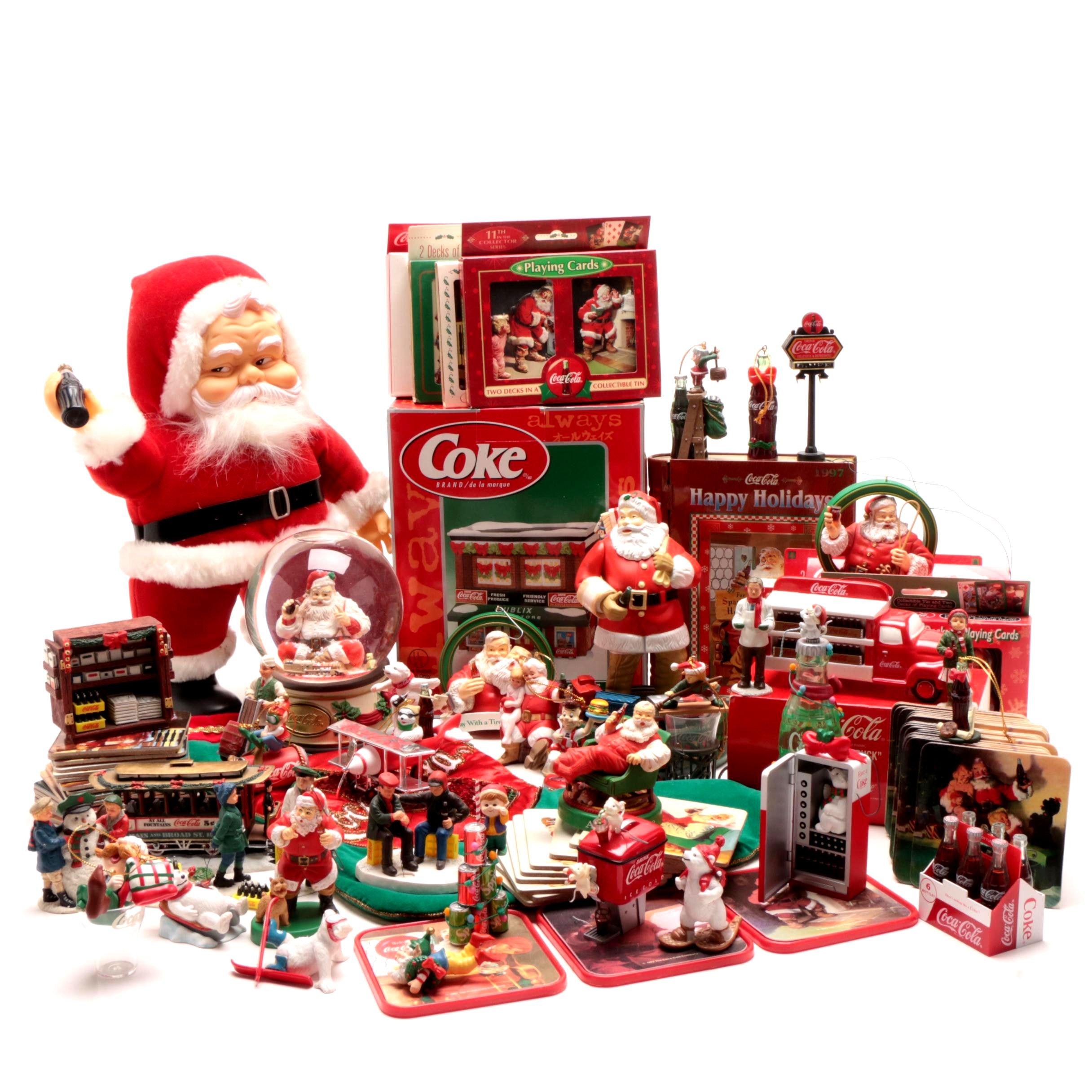 Coca-Cola Themed Winter and Christmas Decor