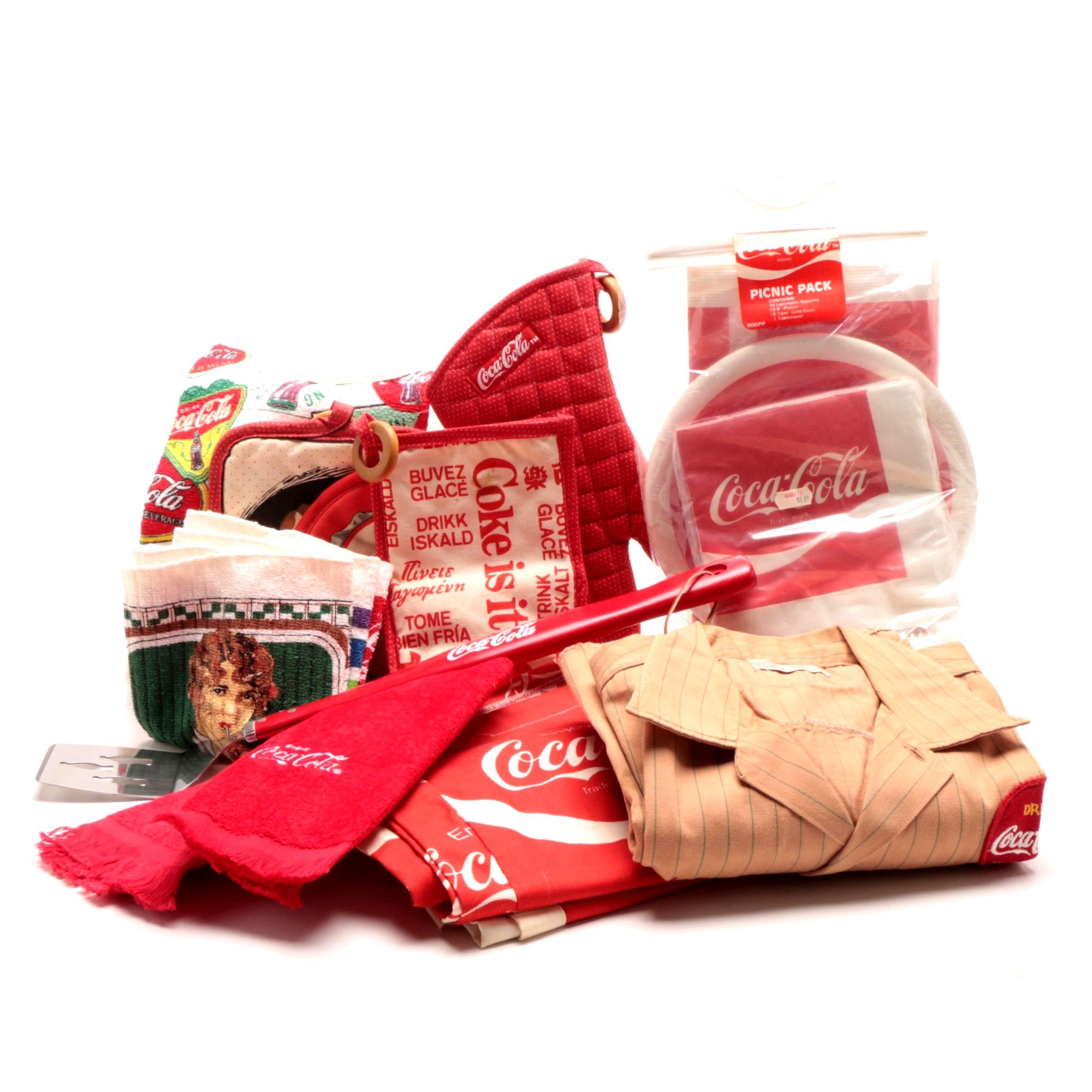 Coca-Cola Clothing and Memorabilia