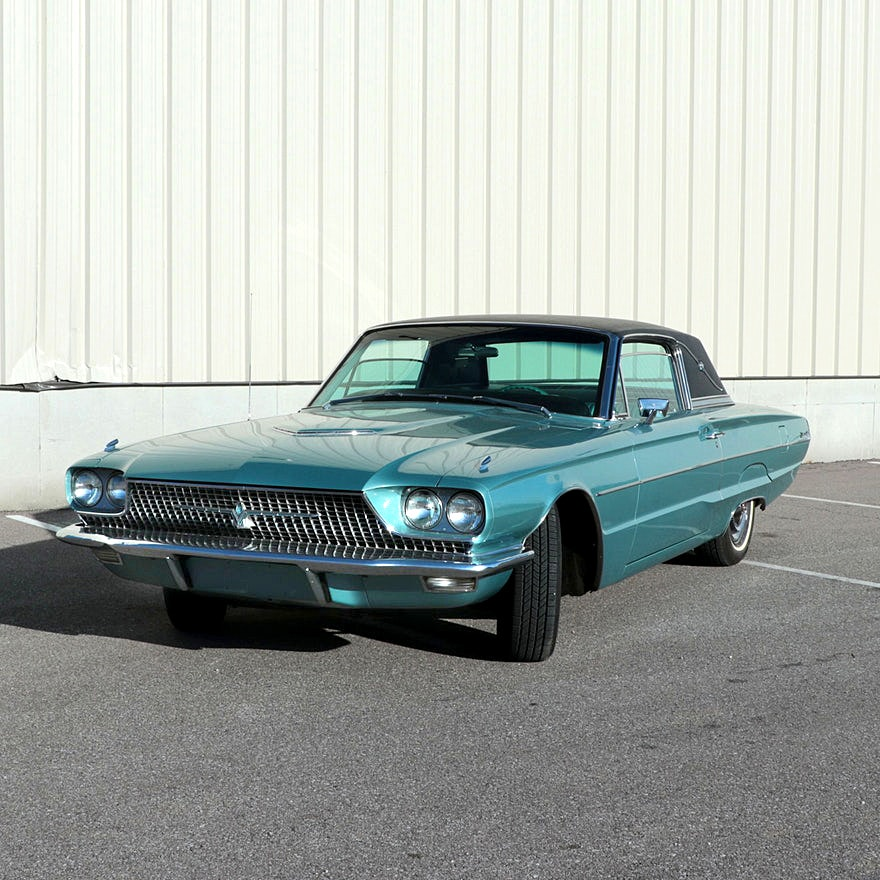 1966 Ford Thunderbird Two door Hardtop with 42,014 Original Miles