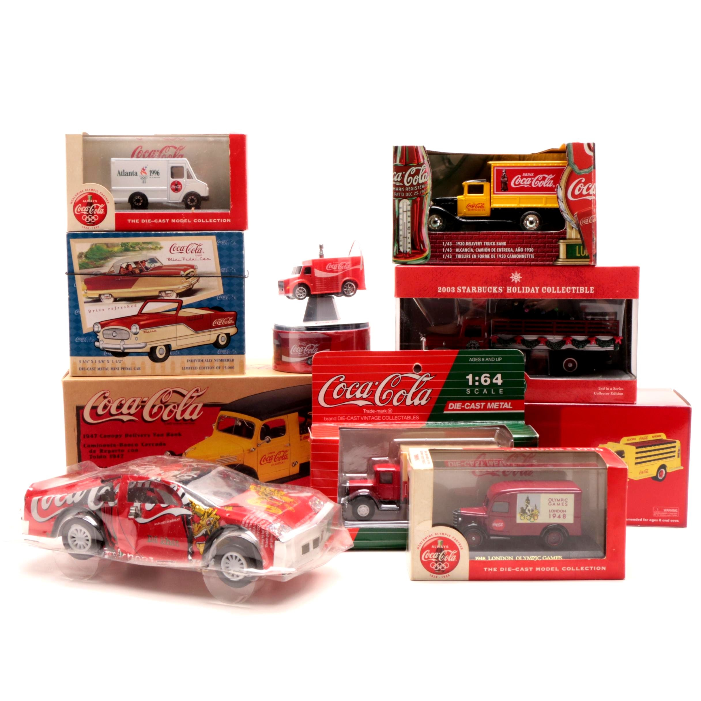 Coca-Cola Model and Die Cast Vehicles