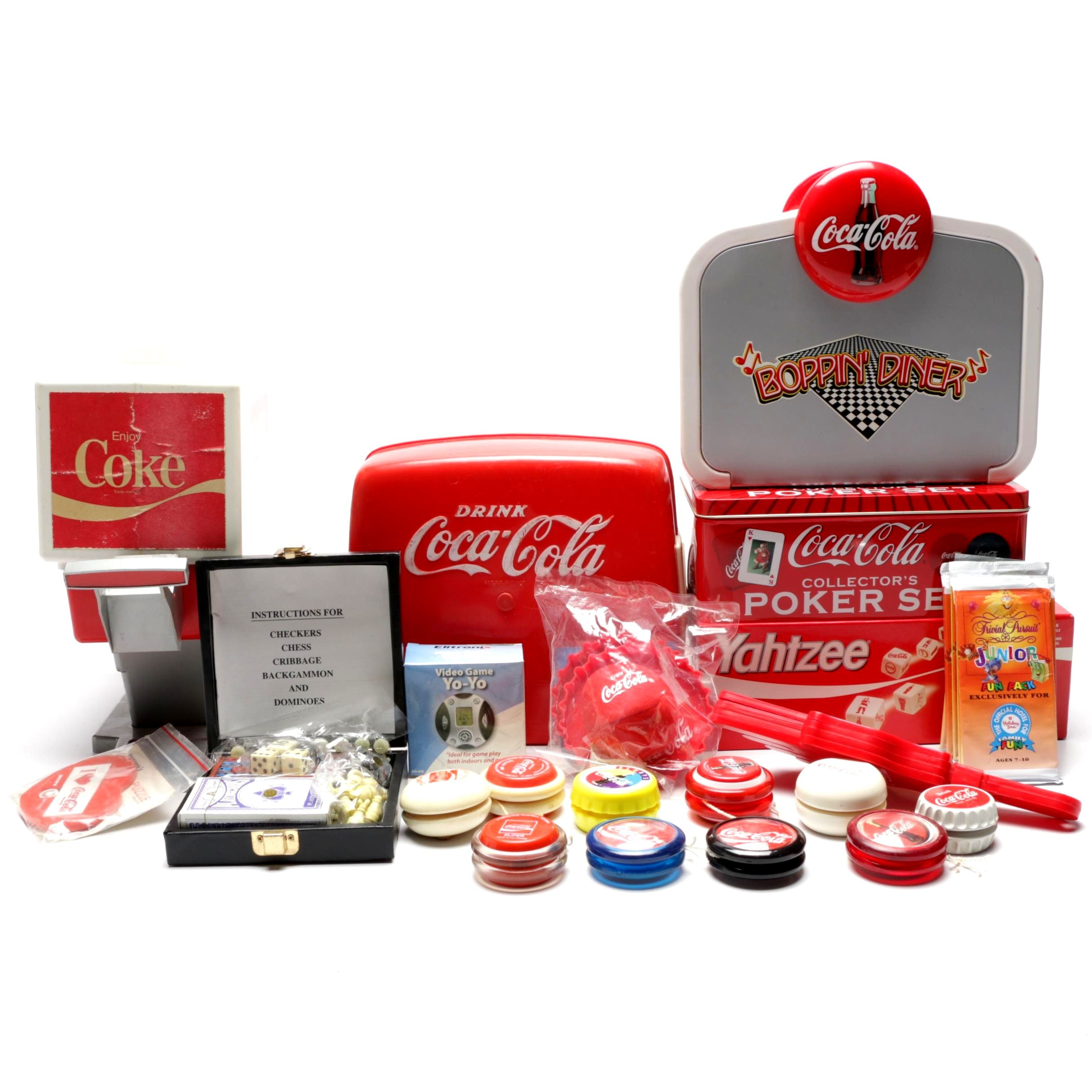Coca-Cola Themed Games and Toys