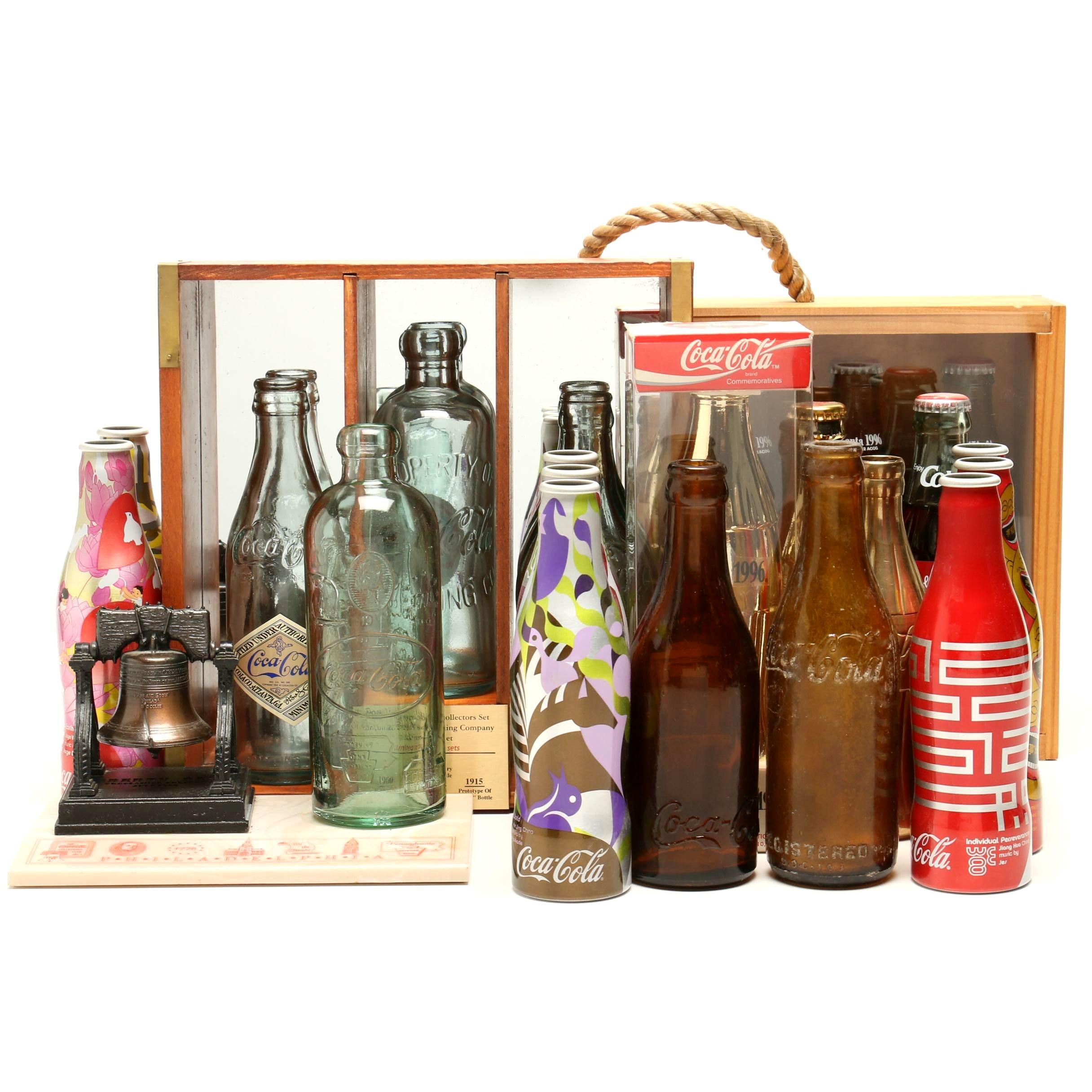 Limited Edition 100th Anniversary Cincinnati Coca-Cola Bottle Set and More