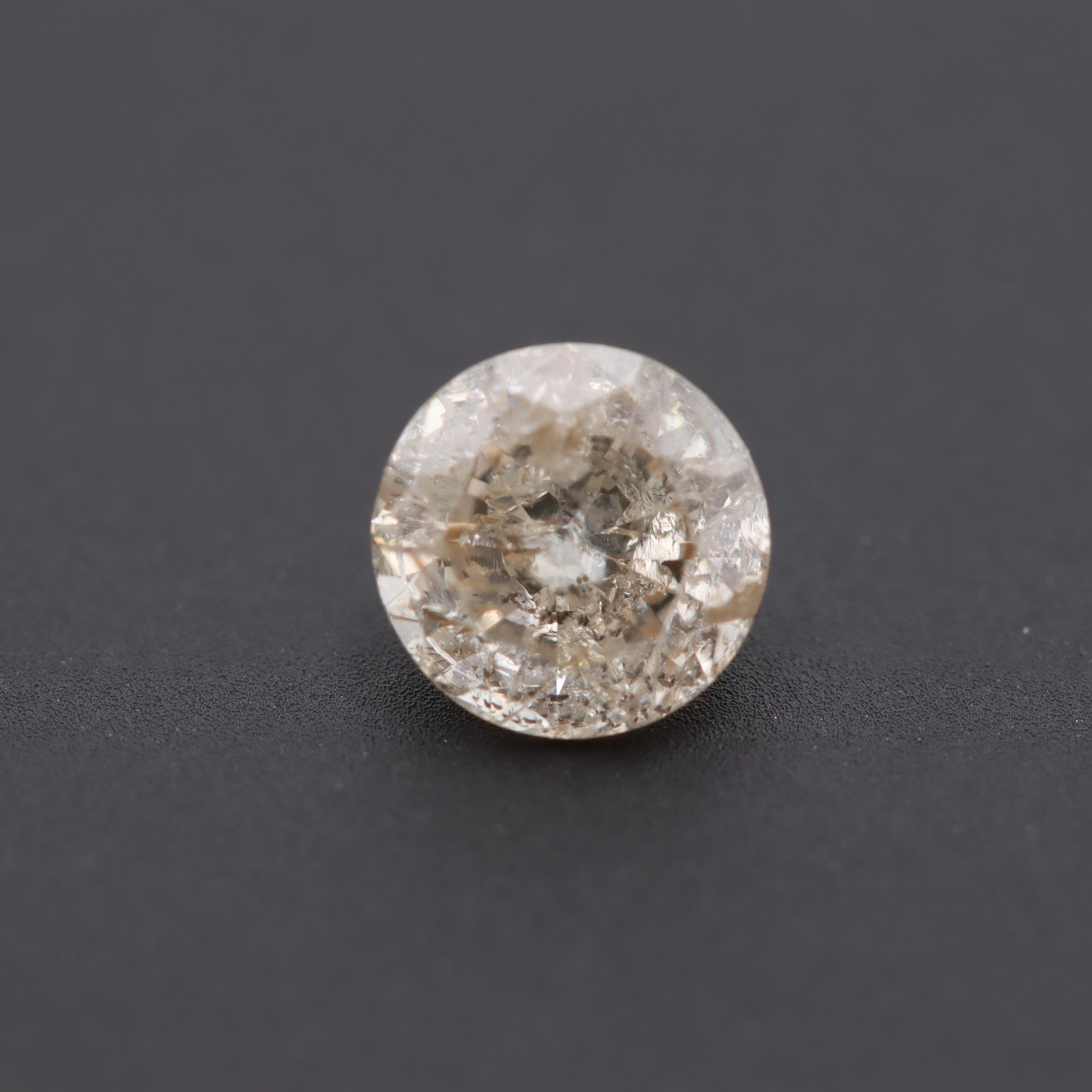 Loose 0.62 CT Diamond