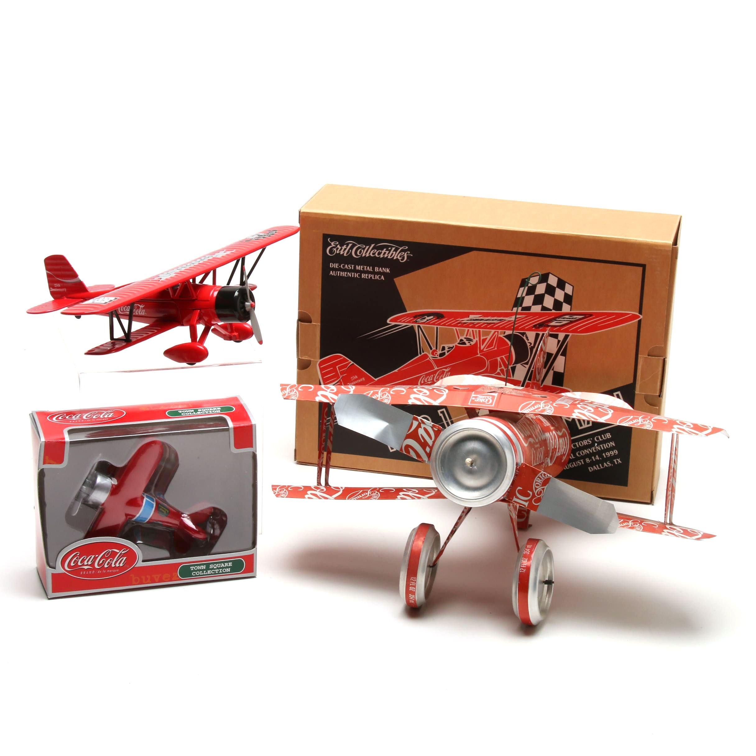 Aviation Themed Coca-Cola Memorabilia
