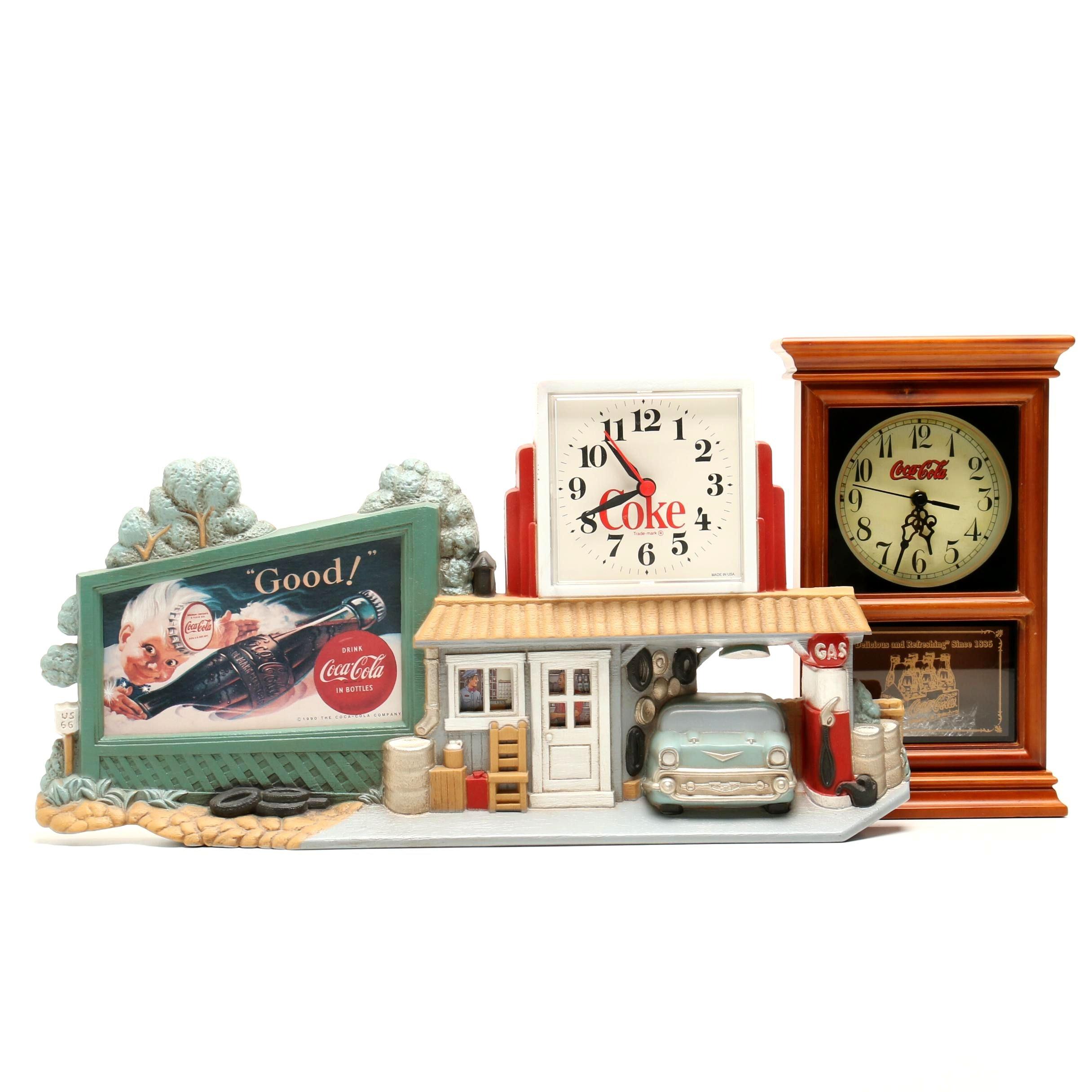 Coca-Cola Collectible Clocks
