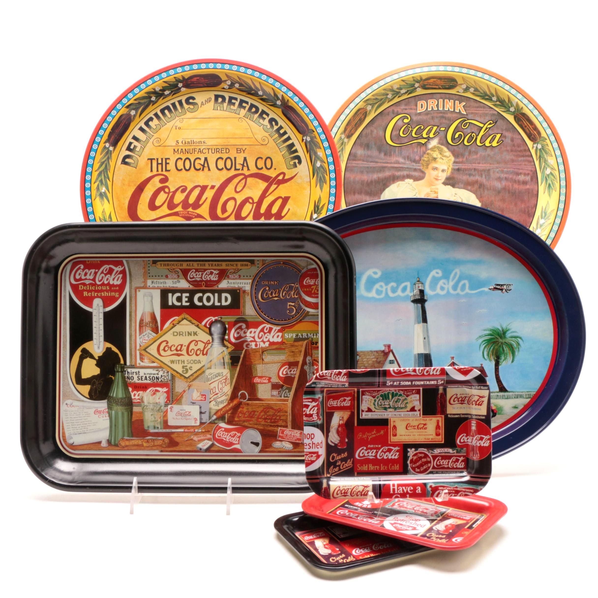 Contemporary Coca-Cola Trays