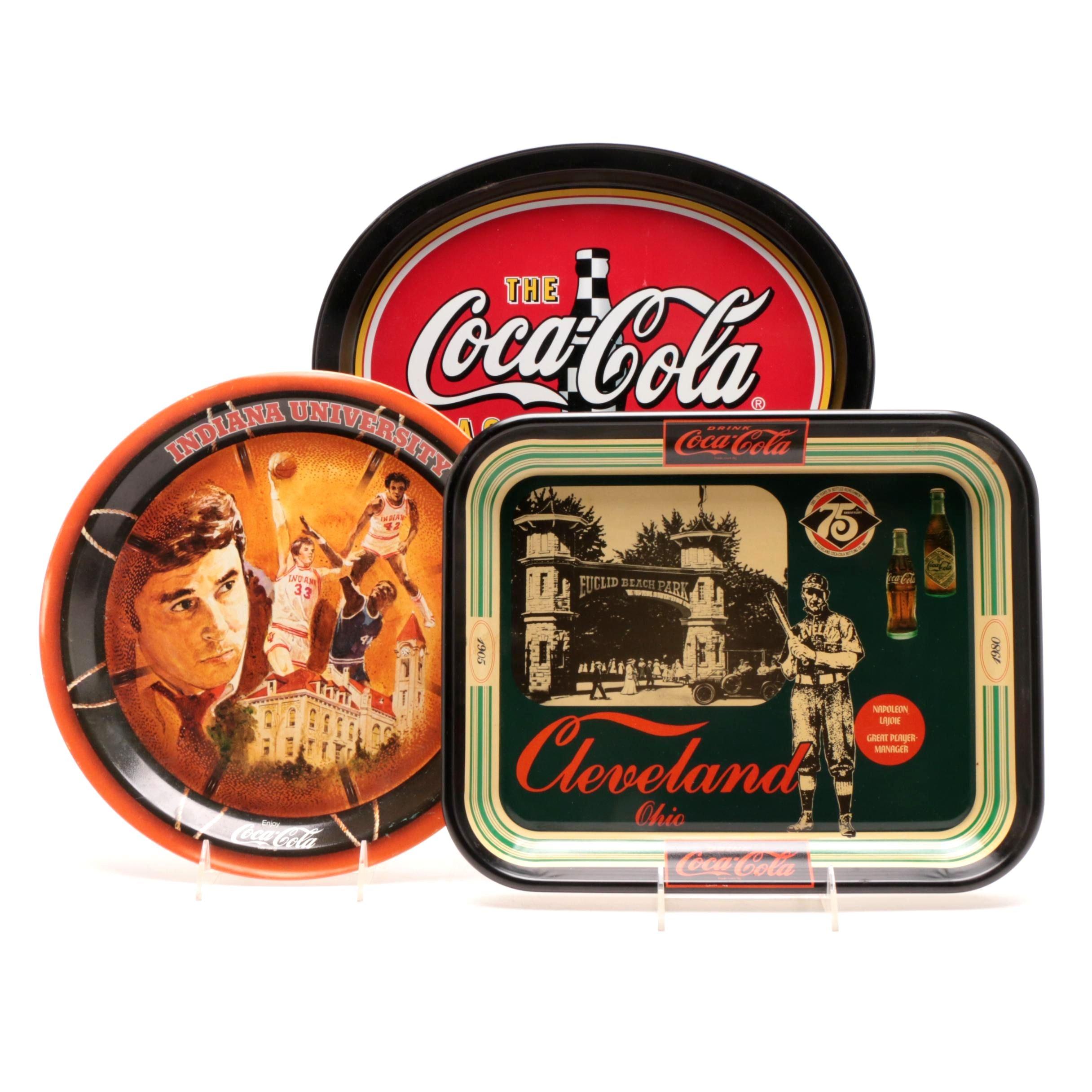 Coca-Cola Sports Themed Trays