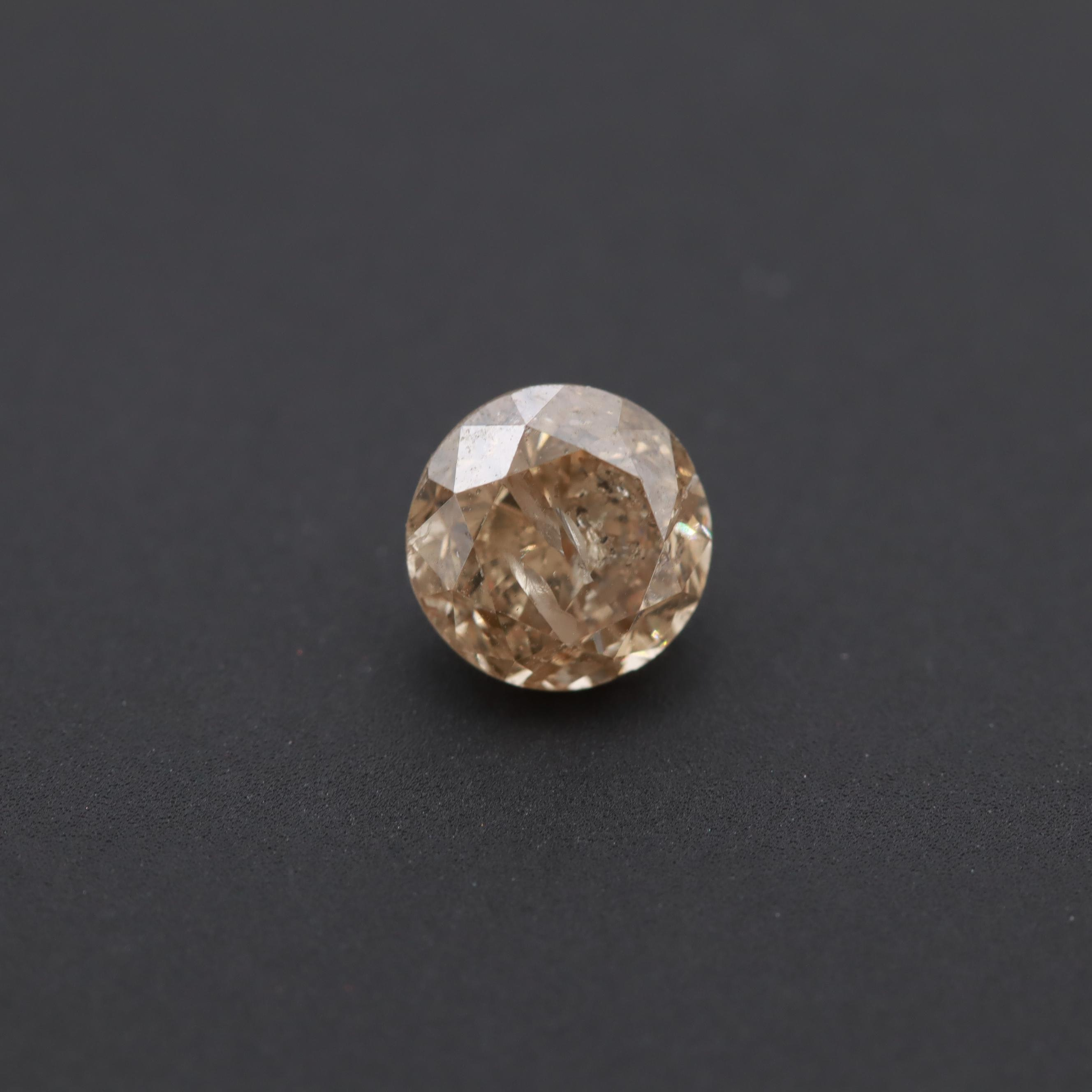 Loose 0.82 CT Fancy Color Diamond