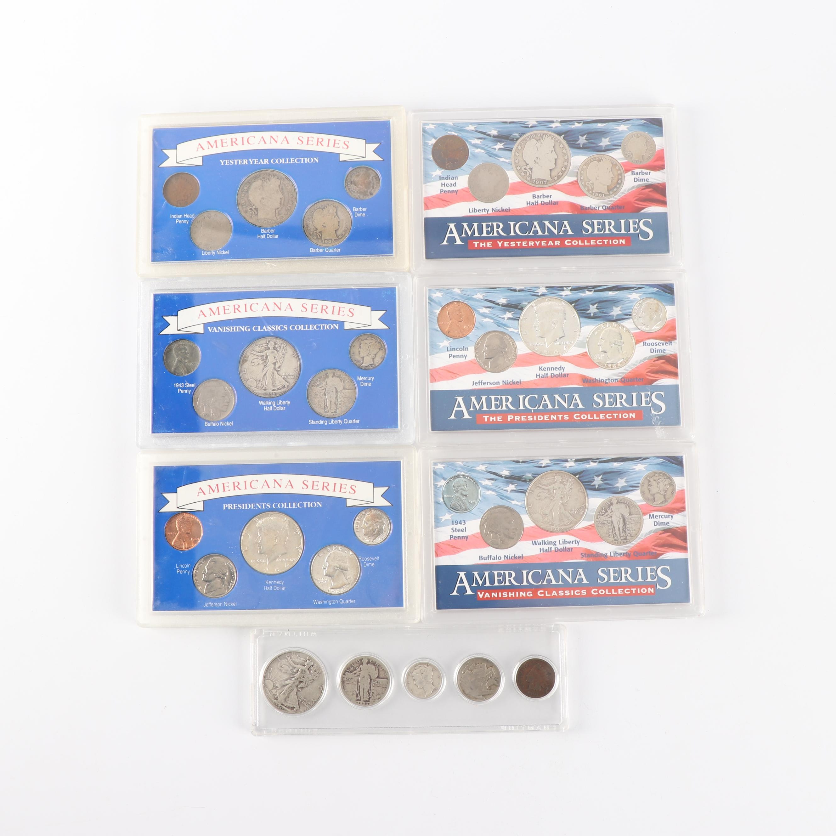 """Americana Series """"Vanishing Classics Collection"""" Coin Sets"""