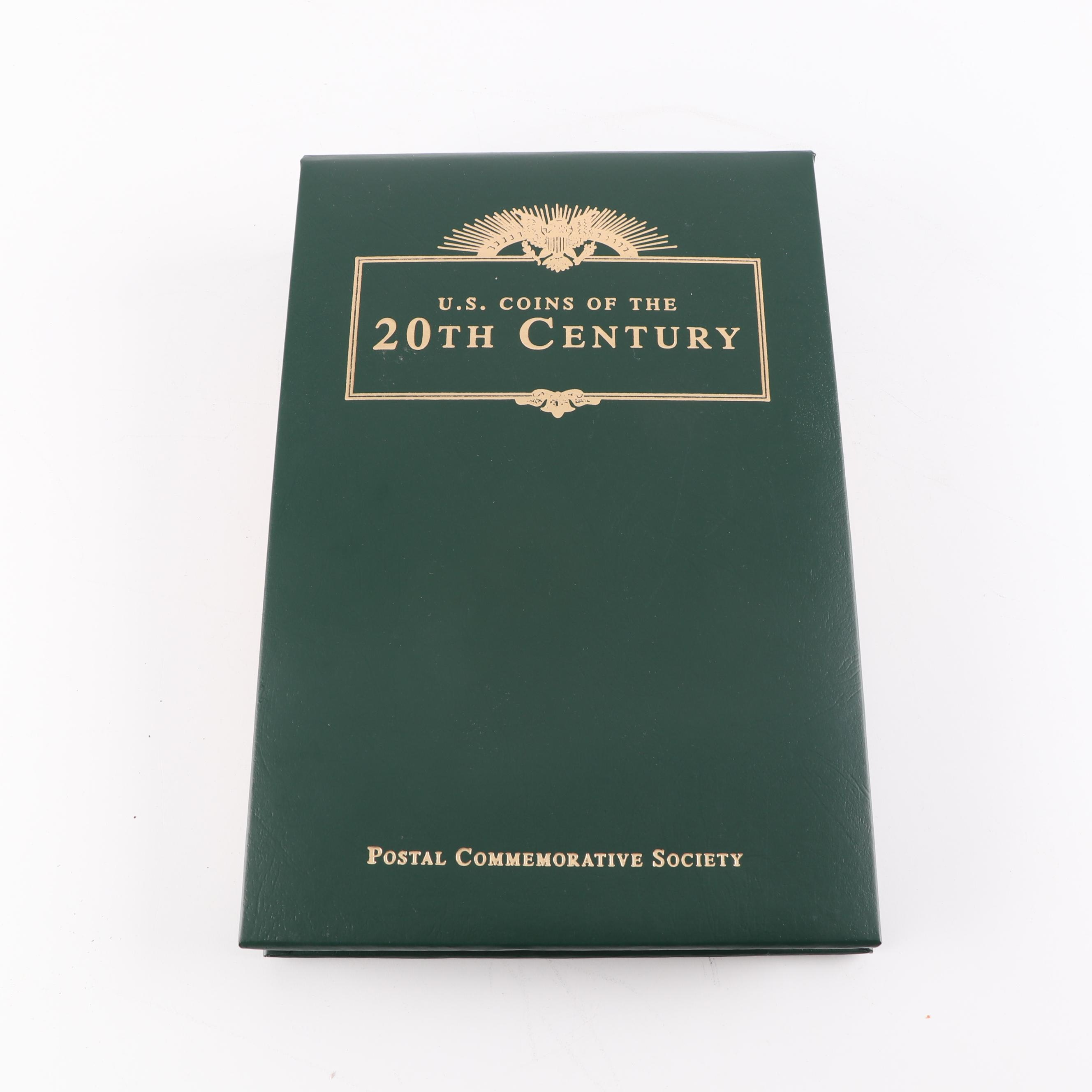 PCS U.S. Coins of the Twentieth Century with Historic Stamps Album