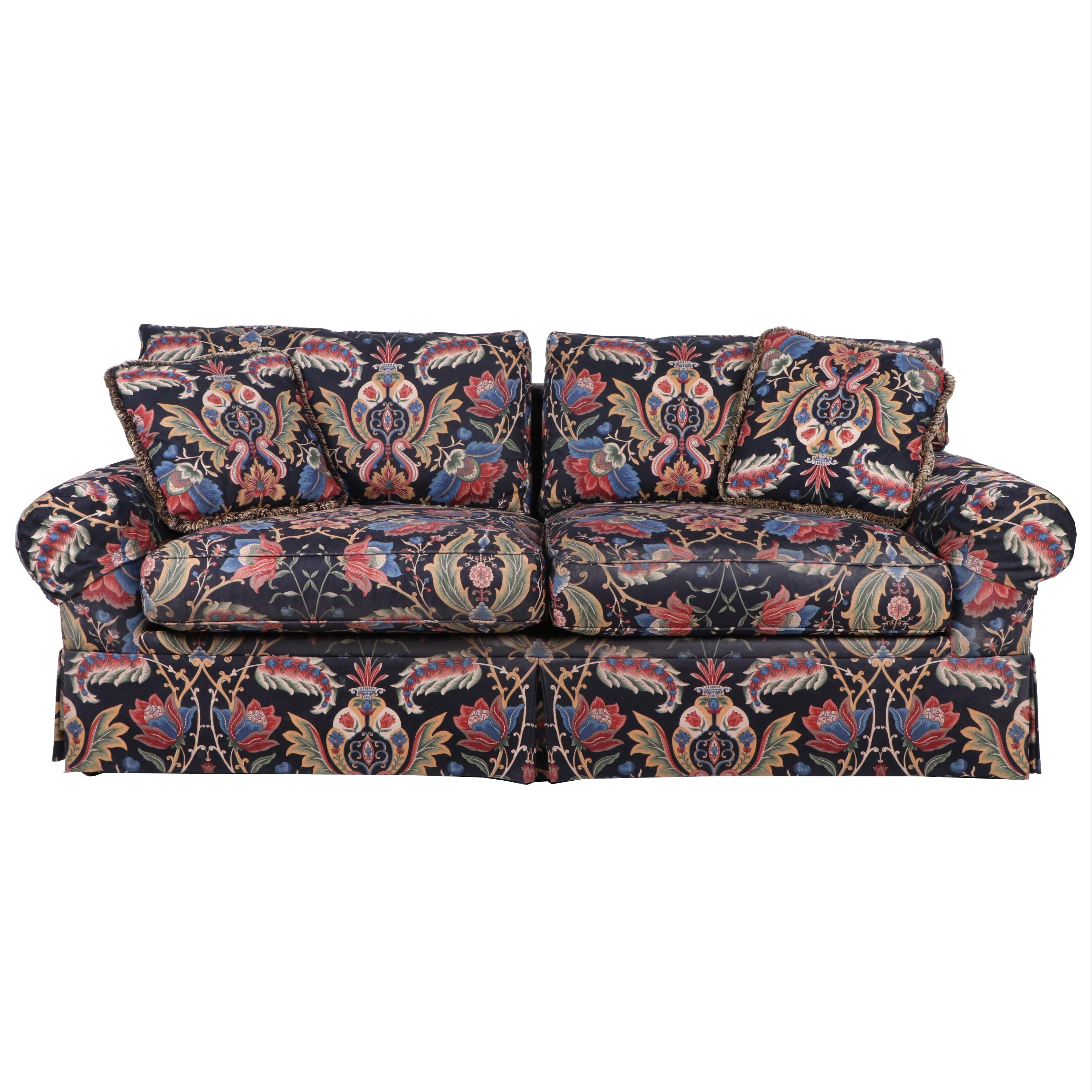 Upholstered Sofa by J. Royale Furniture, 21st Century