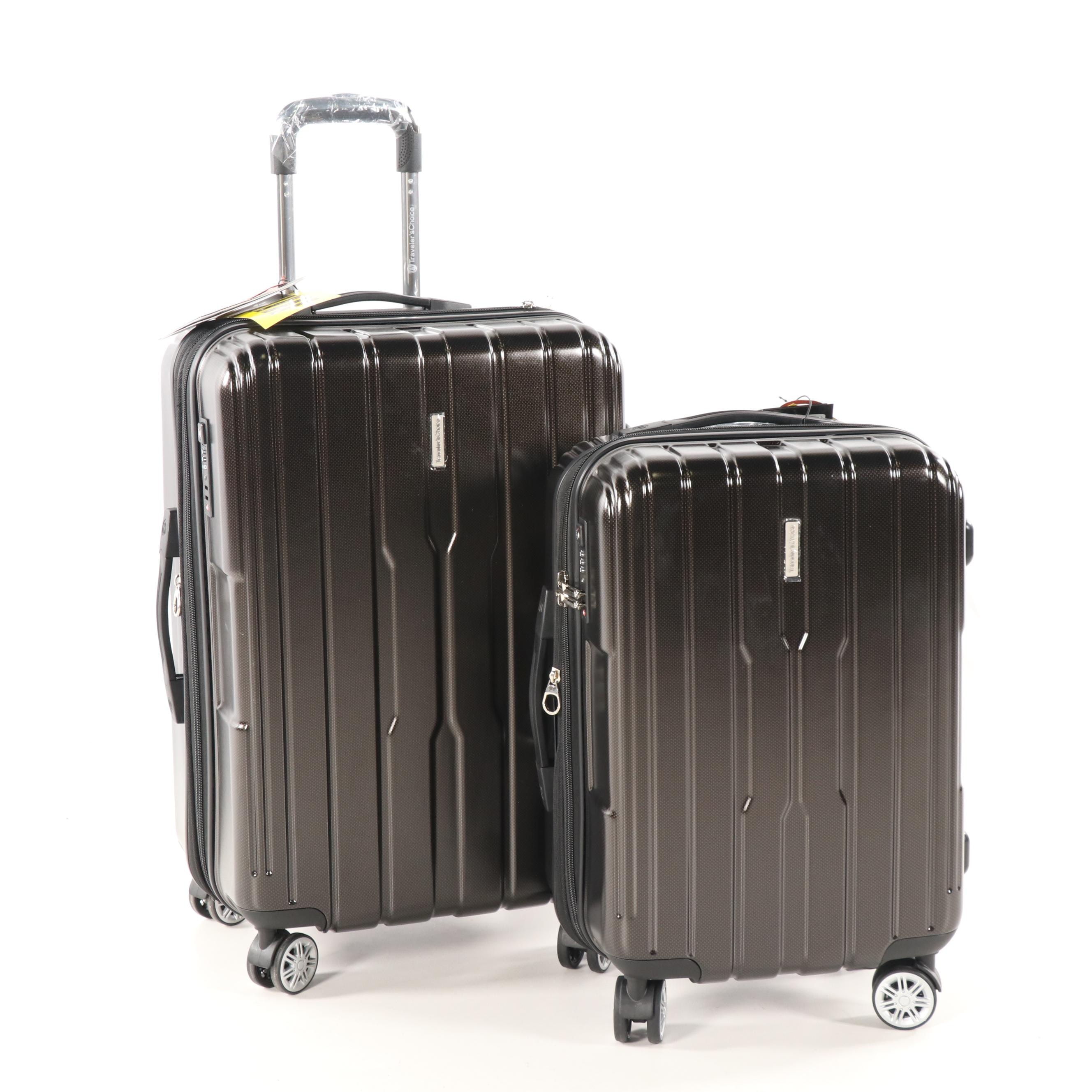 Traveler's Choice Hardside Spinner Two-Piece Luggage Set